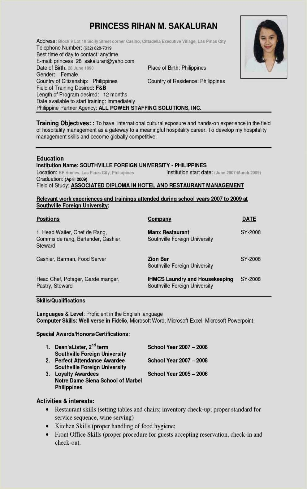 2 Page Resume format - 20 Awesome Cover Letter 2 Pages Free Resume Templates