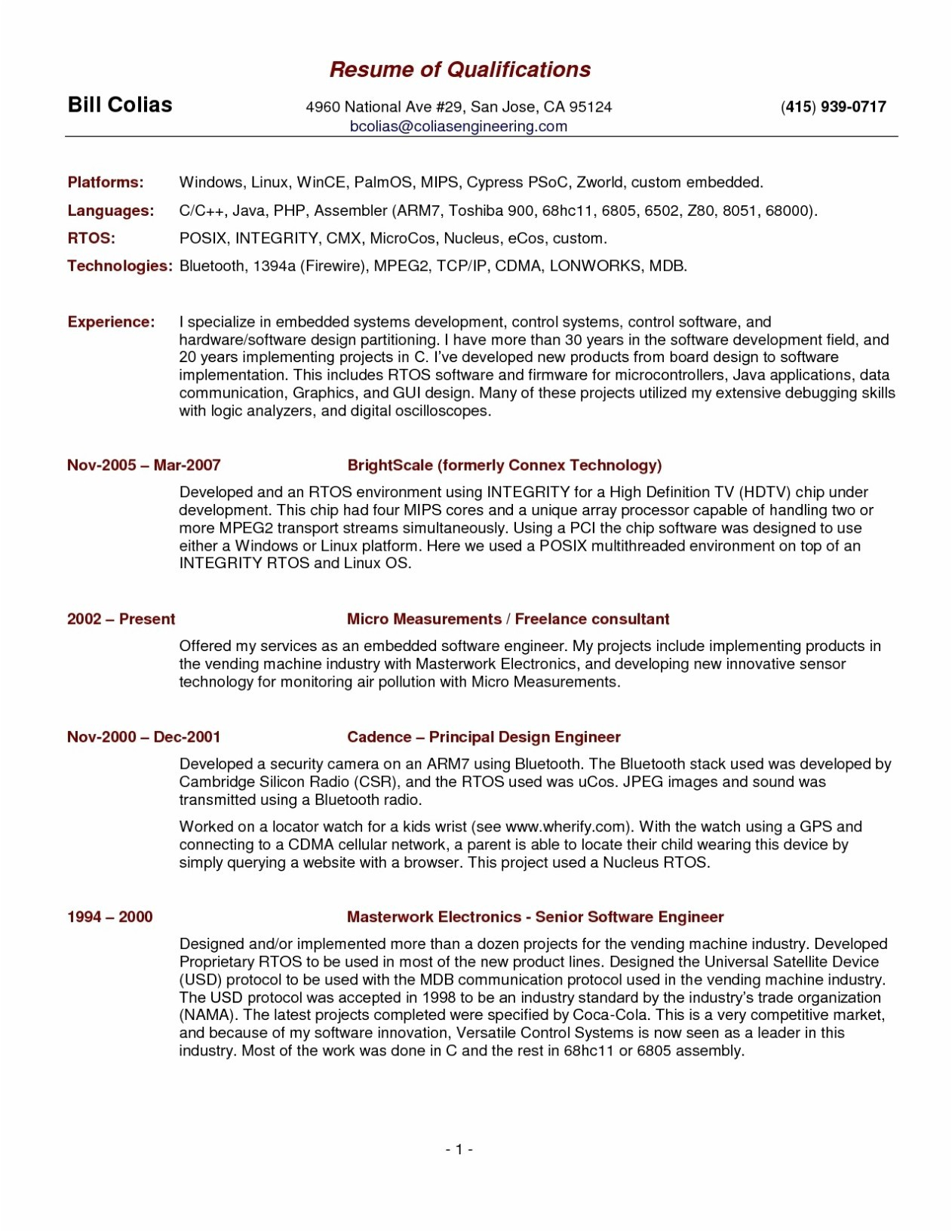 20 Years Experience Resume - Freelance Resume Samples Fresh It Resume Sample Pr Resume Template