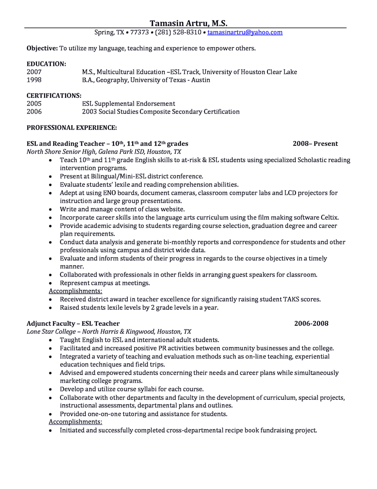 Academic Resume Template Latex - 51 Standard Resume Template Latex