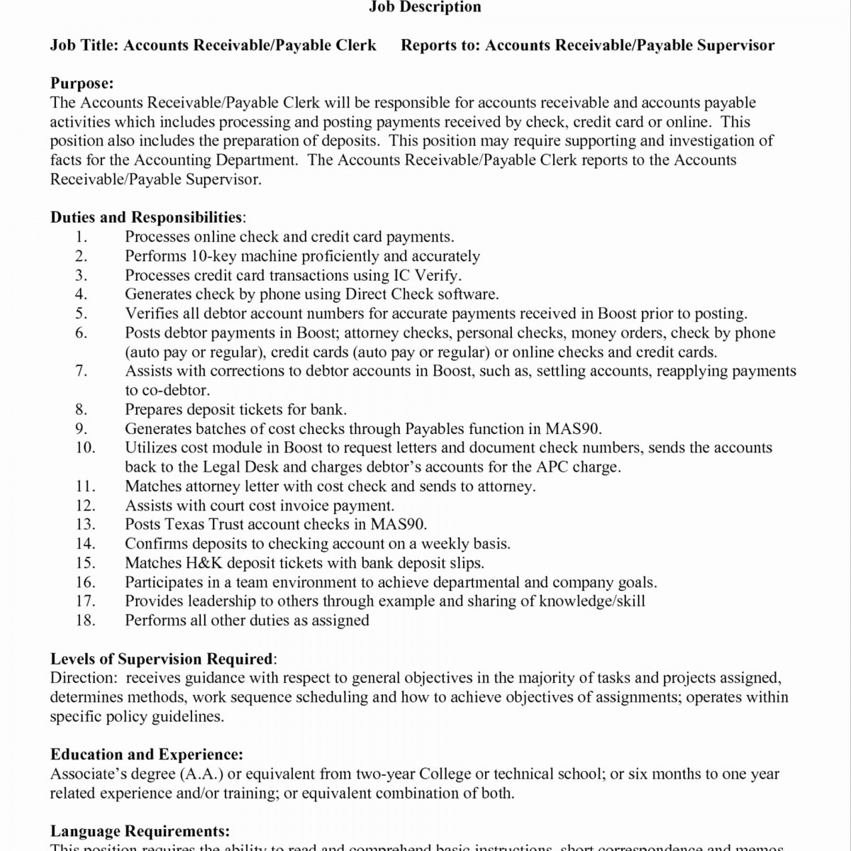 Account Payable Resume - Accounts Payable Resume Dazzling Resume Examples for Accounting Jobs