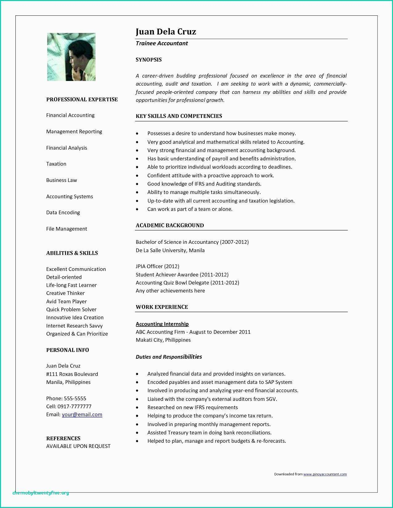 Account Payable Resume Template - Accounts Payable Resume Fresh Resume for Cna Elegant Rn Bsn Resume
