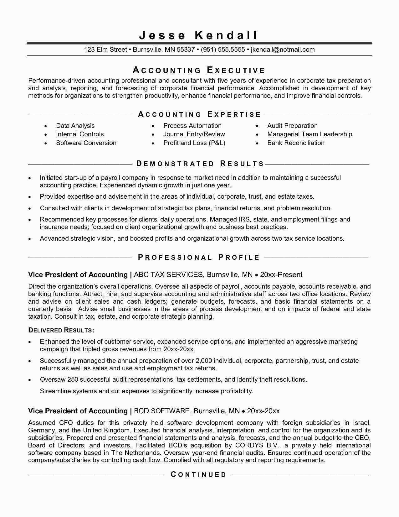 10 accounting clerk resume sample collection