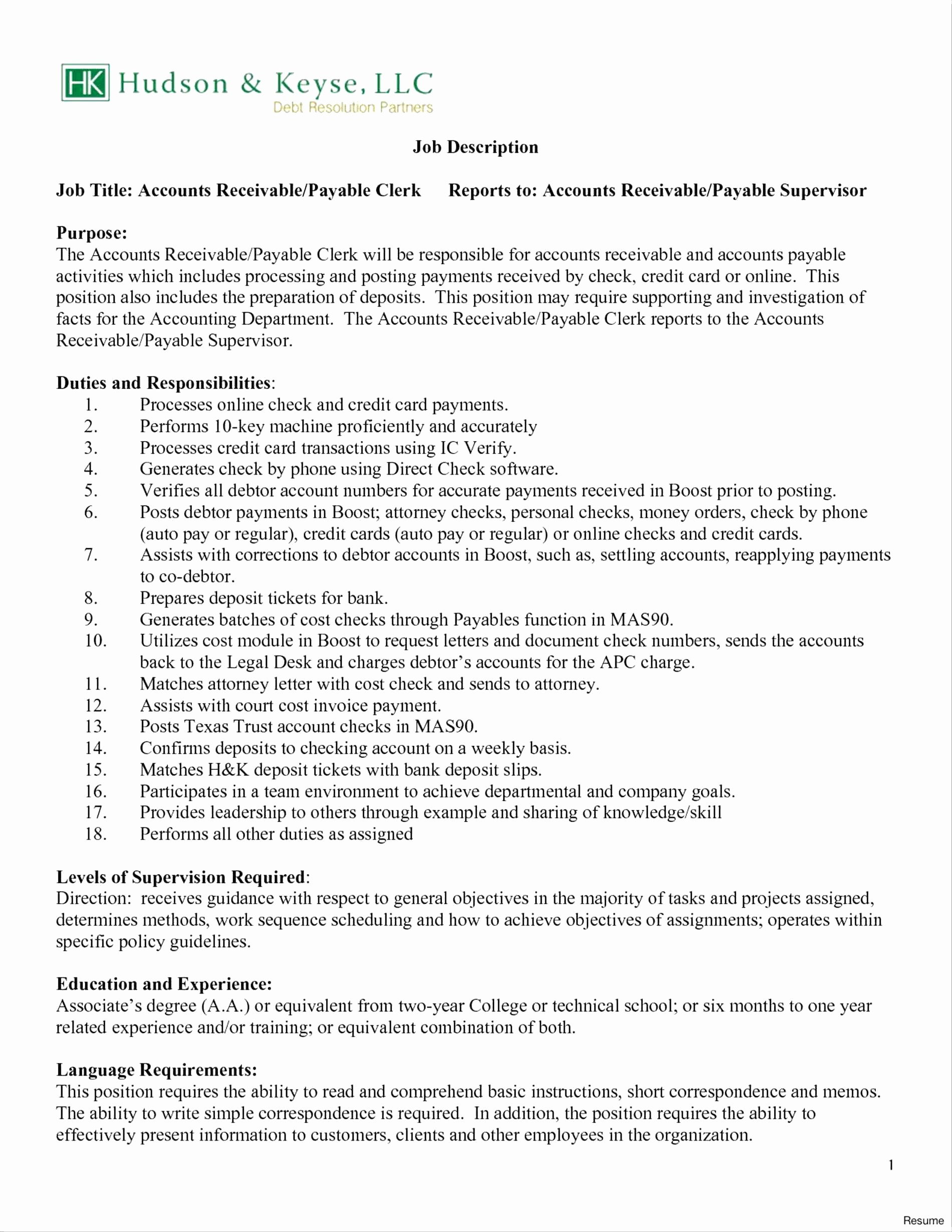 Accounting Resume Objective - 18 Best Accounting Resume Objective