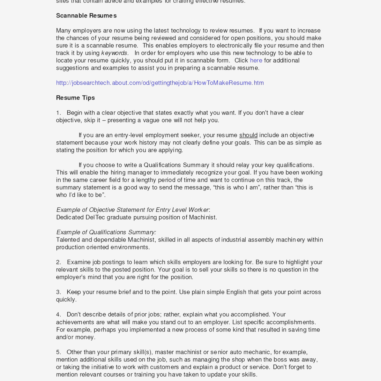 Accounting Resume Summary Examples - Sample Resume Summary Statements
