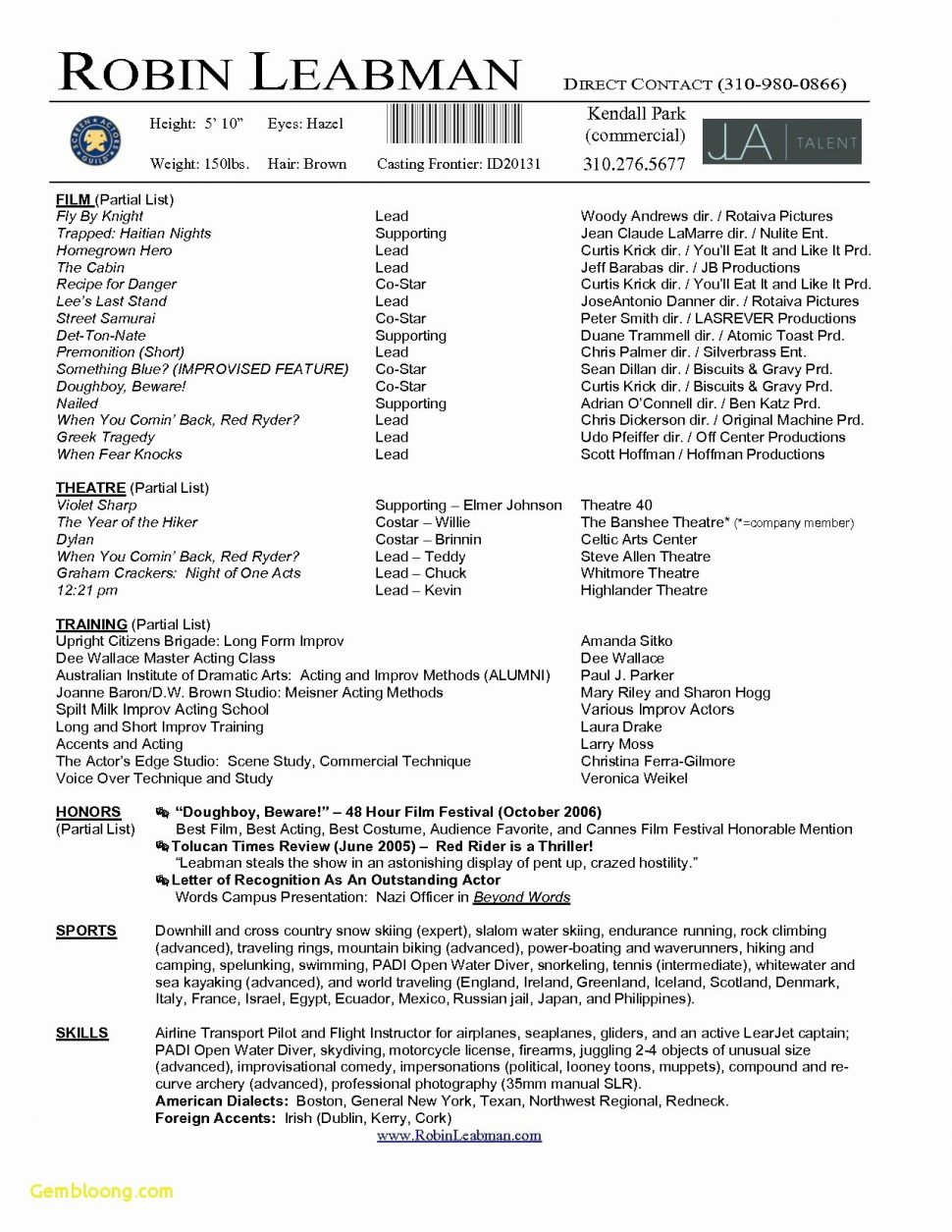 Acting Resume Template Download - Resume Functional Resume Builder Template Jobresume Website