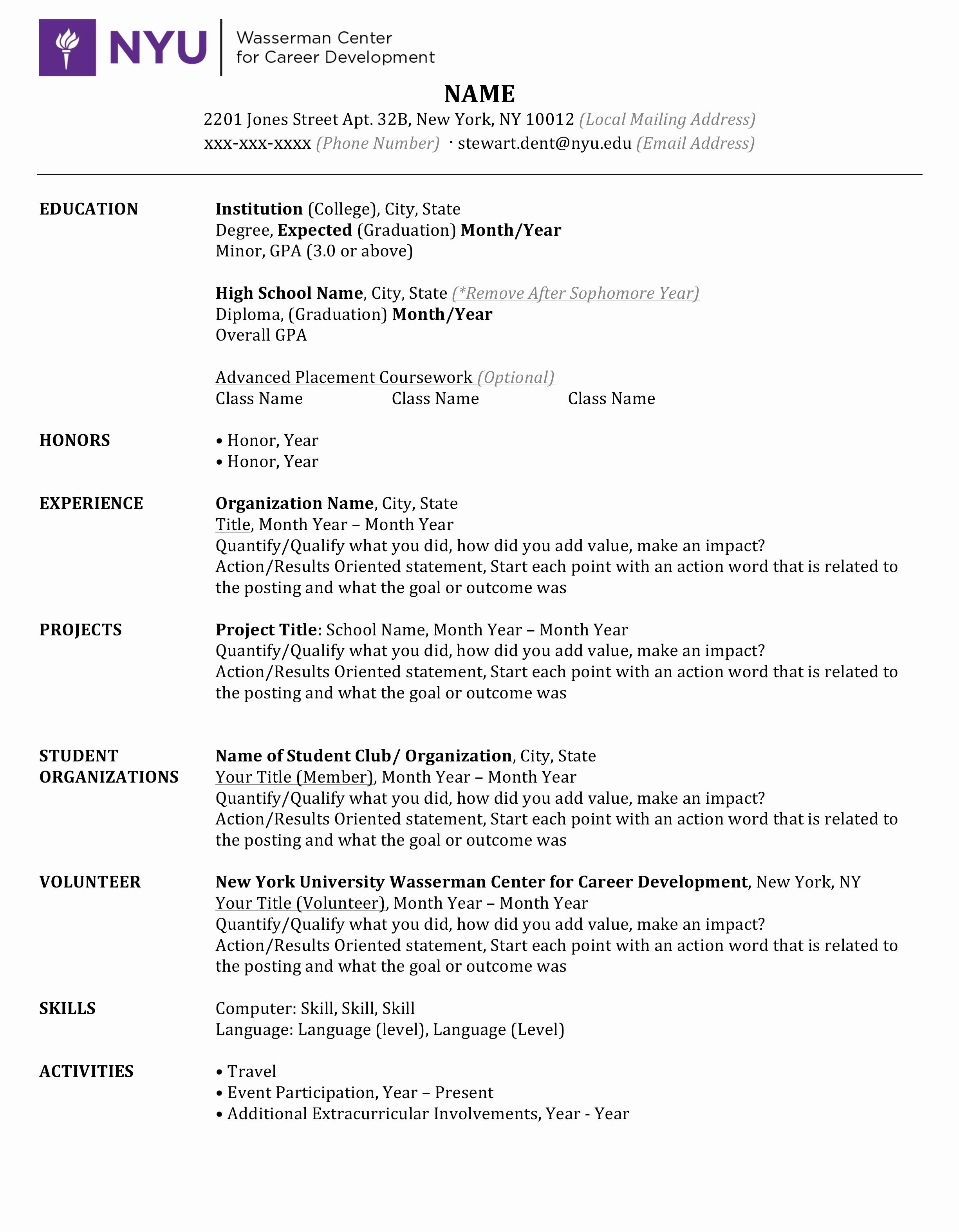Actors Resume Template Word - Free Resume Template Download Lovely Cfo Resume New Template Writing