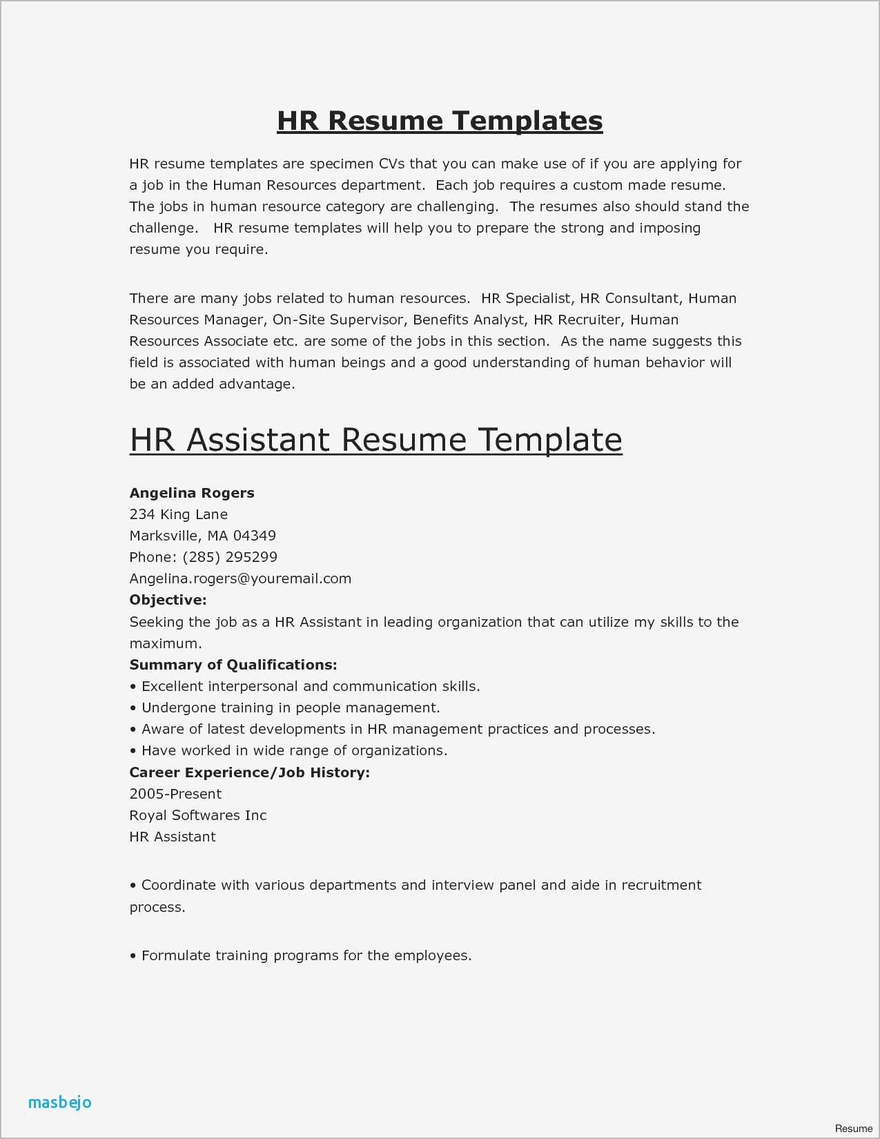 Advertising Resume Template - Advertising Resume Examples Resume Objective for Medical assistant
