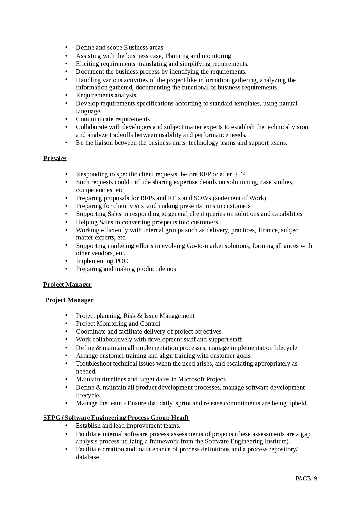 agile business analyst resume example-Agile Business Analyst Resume 16-n