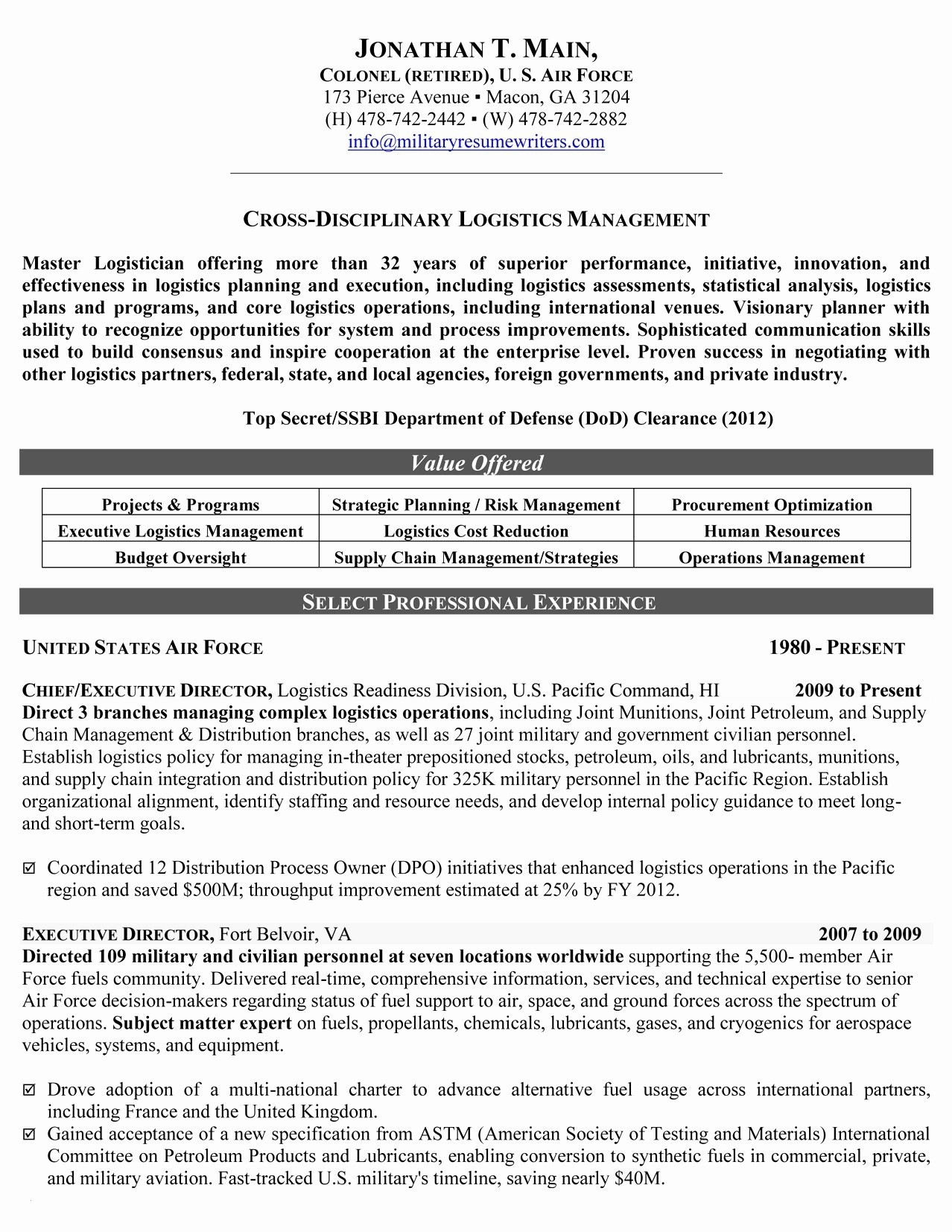 Airline Pilot Resume Template - Pilot Resume Template Best Valid Aviation Resume format