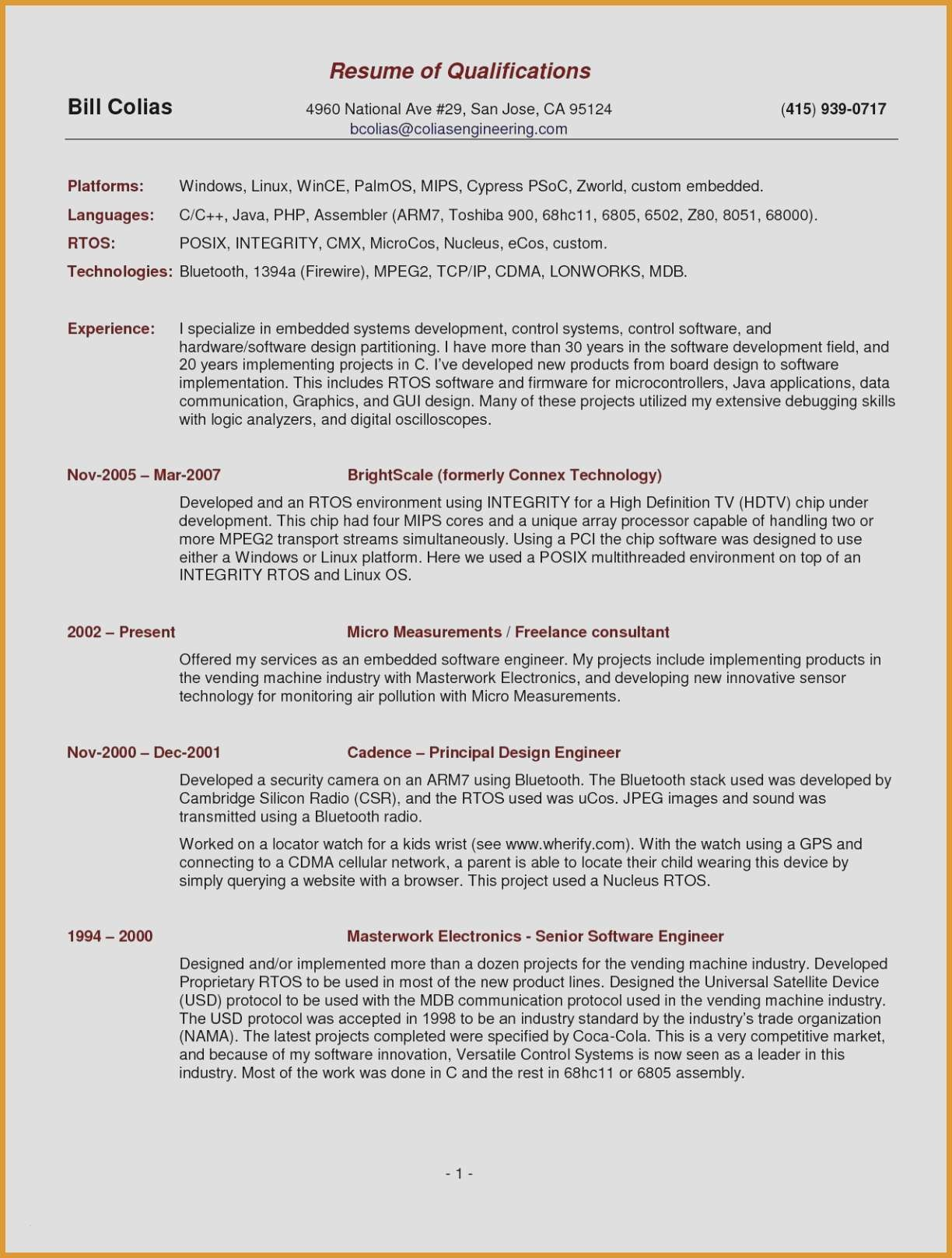 android developer resume Collection-android Developer Resume 4-n