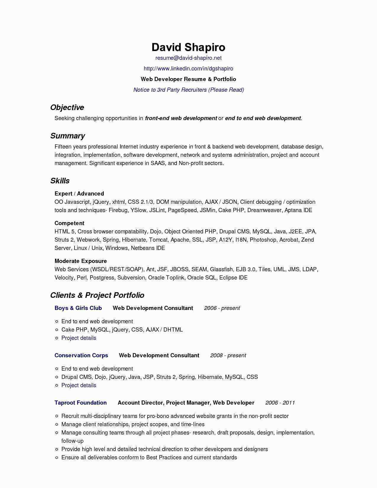 Apache Resume Template - Perl Resume Sample Elegant Perl Resume Sample Free Resume Templates