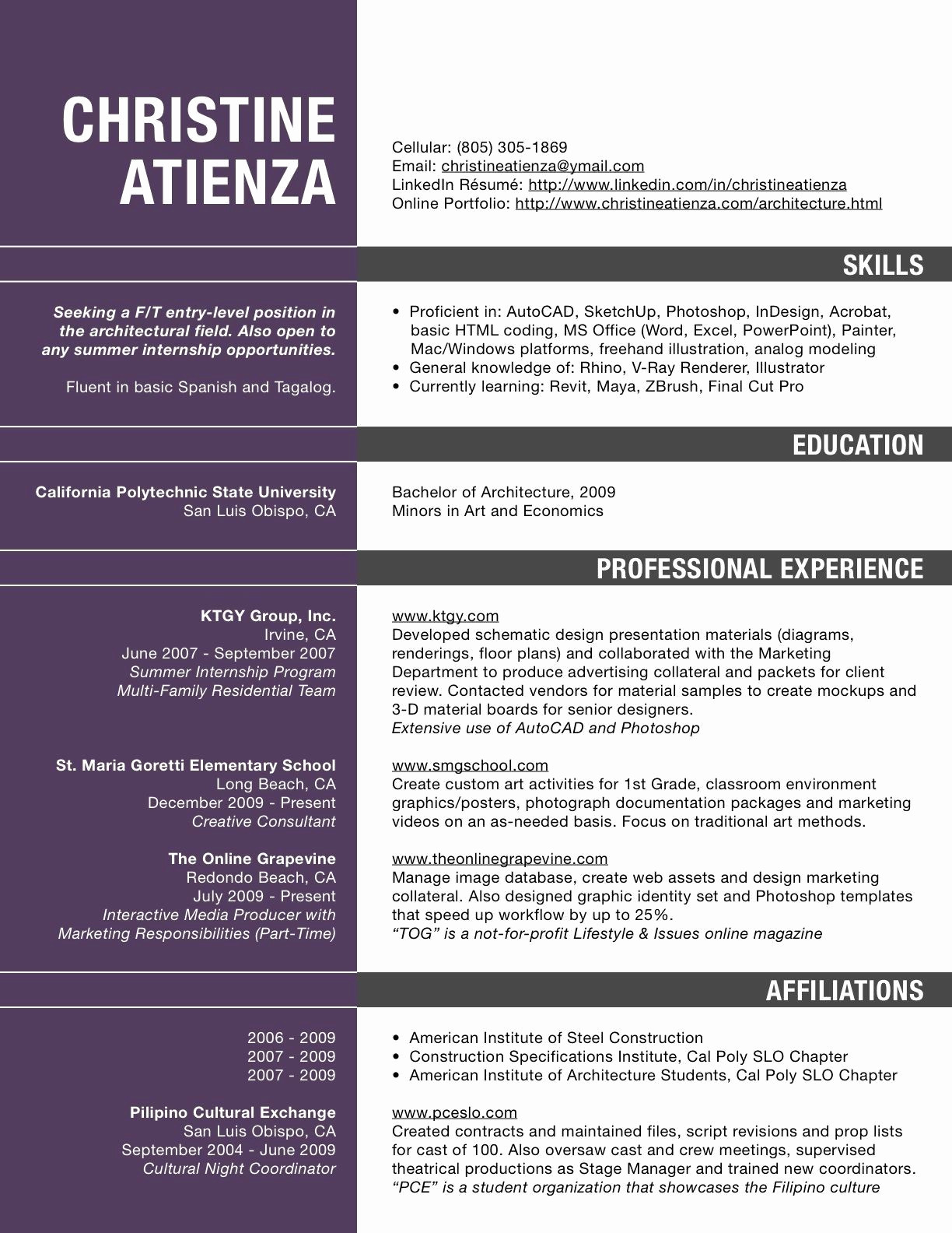 Architecture Student Resume - Architecture Student Cover Letter Inspirational New Example Cover