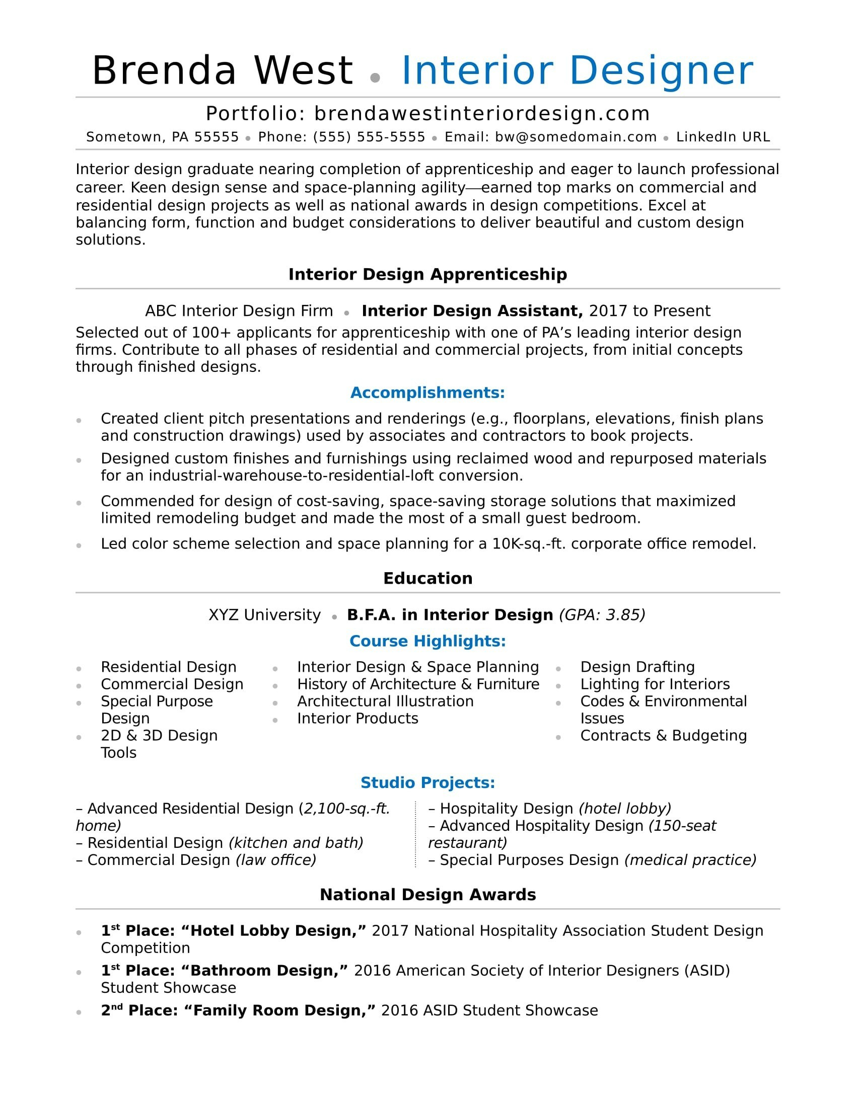 Architecture Student Resume - Law Enforcement Resume Examples