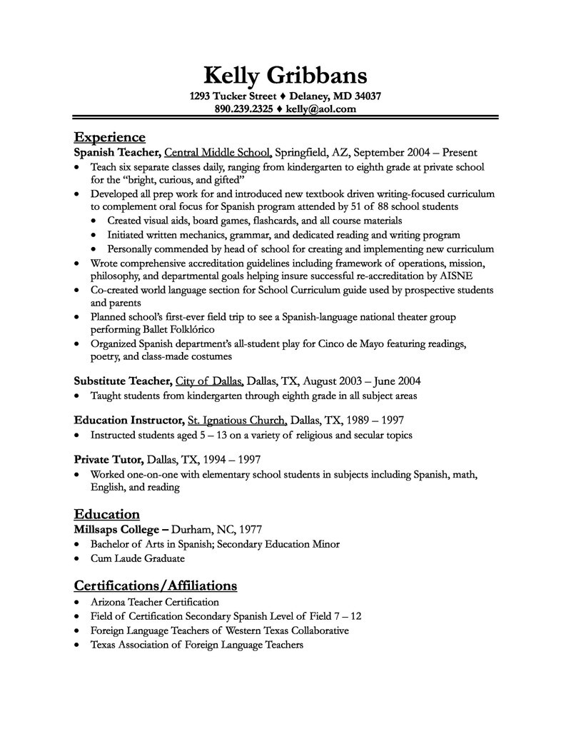 Art Teacher Resume Template - Art Teacher Resume Awesome Teacher Resume Example Awesome Resume