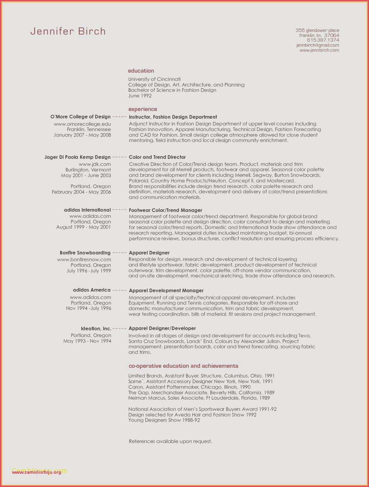 Artist Resume Sample - Resume Reviewer Sample Architecture Resumes Nanny Resume Sample