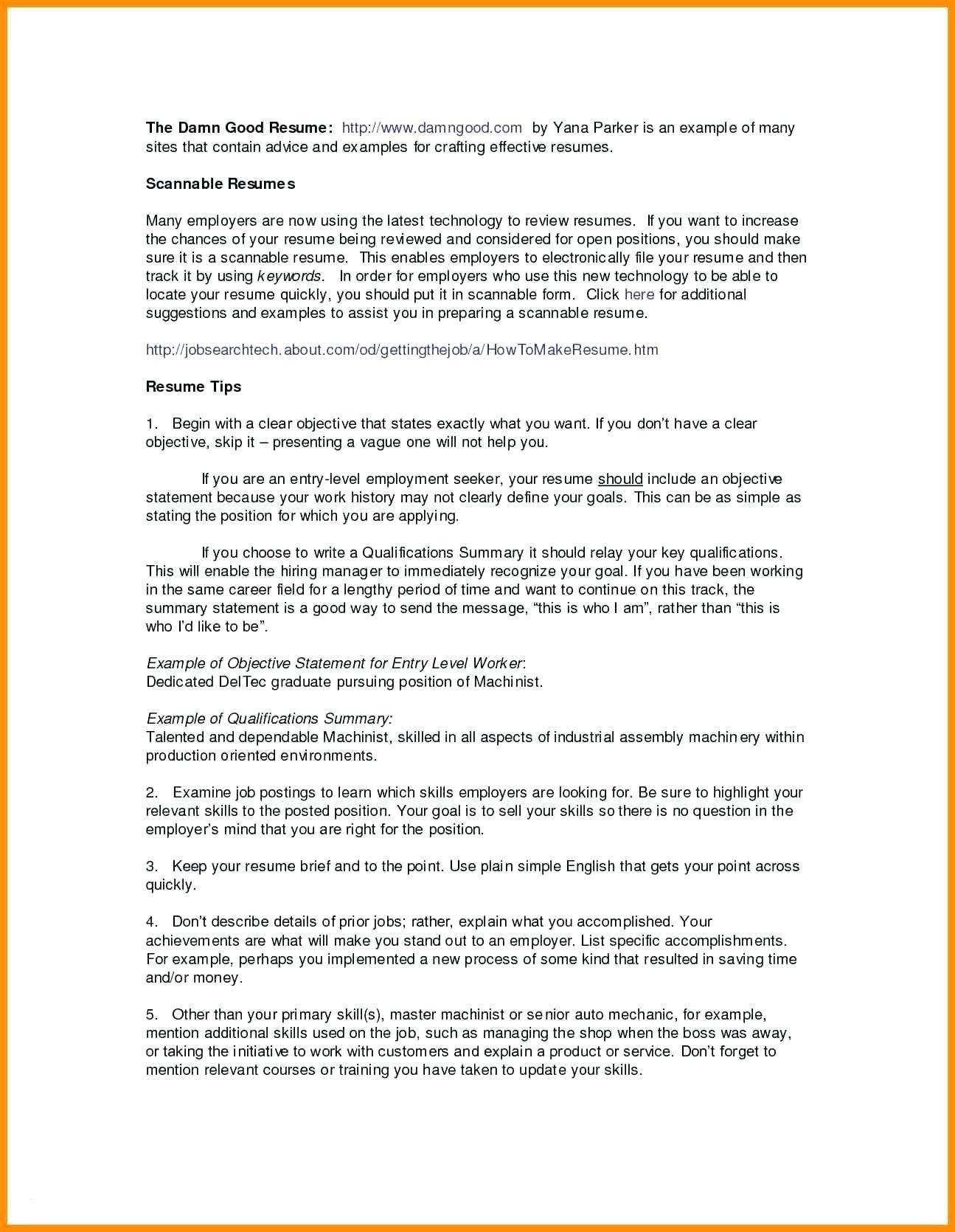 Athletic Resume Template - Resume for Server Fresh athletic Resume Template Elegant Server