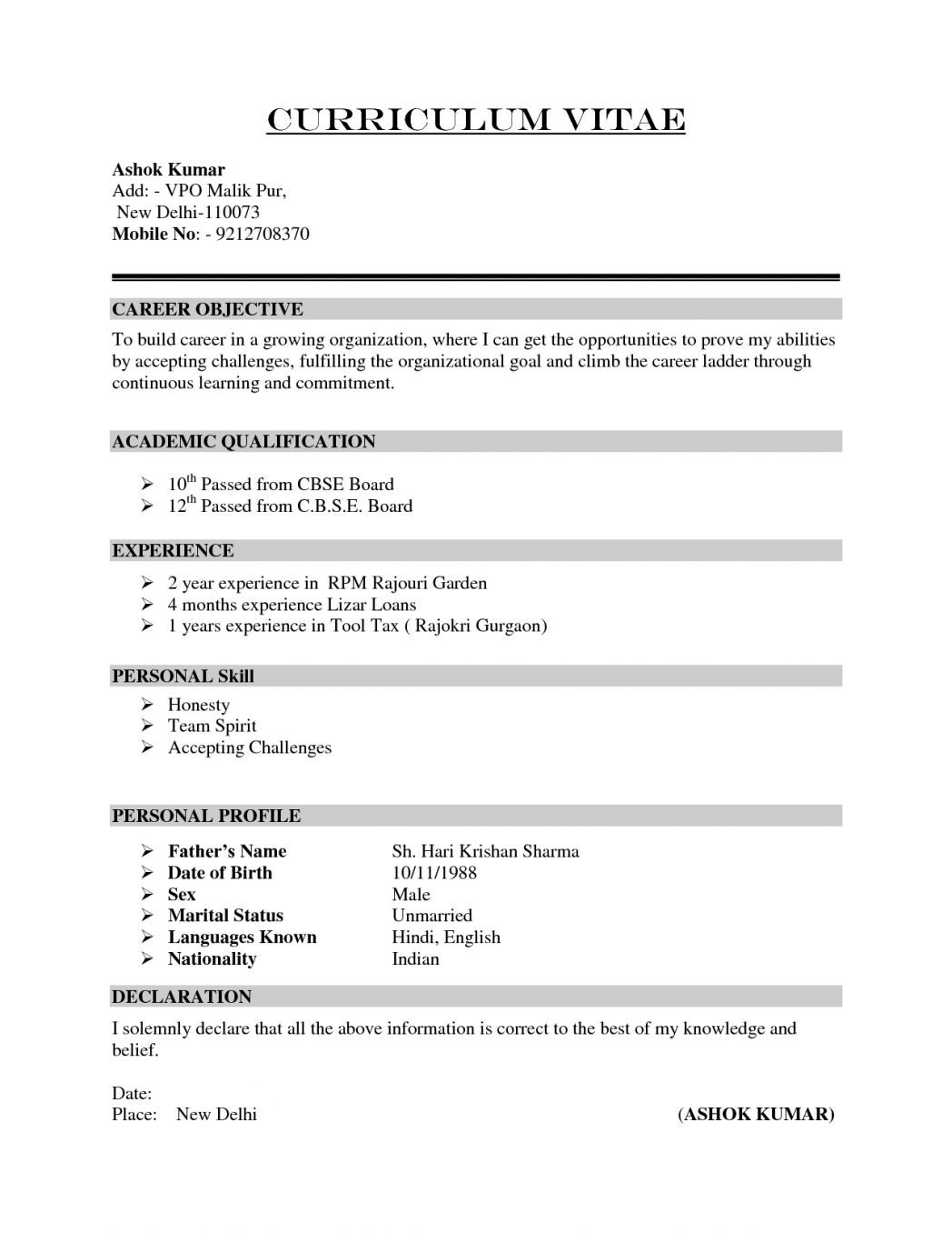 Attached is My Resume - How to Make A Job Resume Unique Self Employed Resume New Luxury