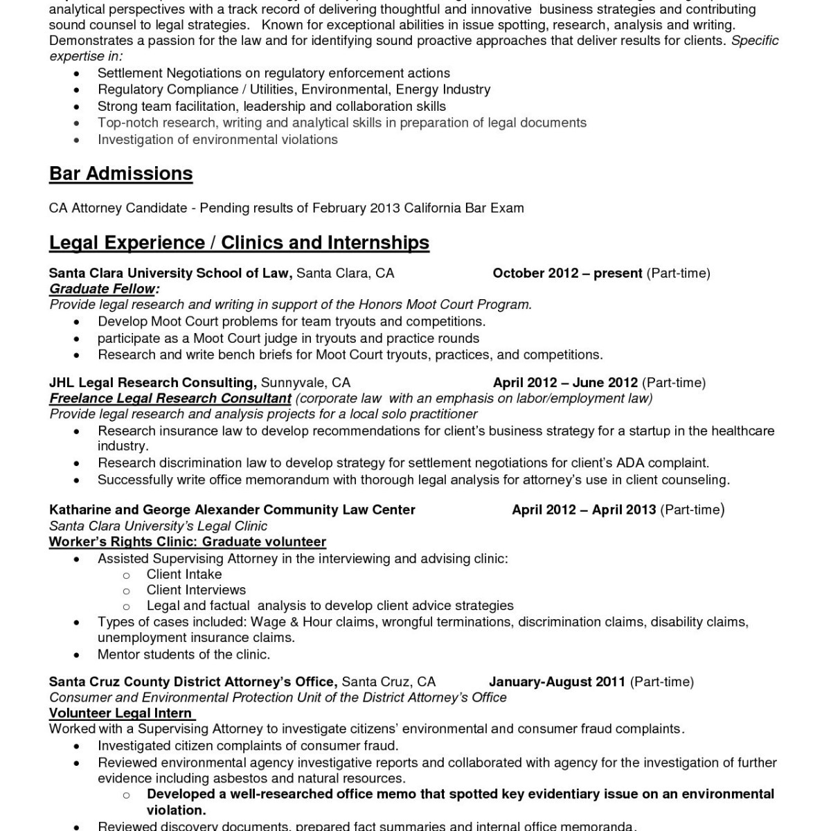 Attorney Resume Template - 39 Awesome Lawyer Resume Model T2s