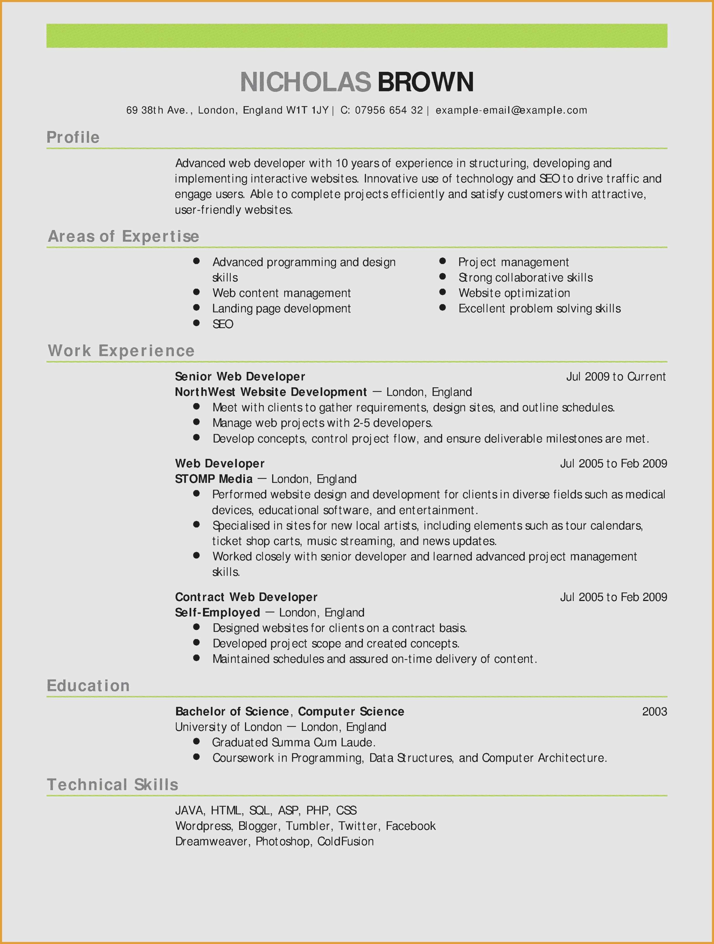 Attractive Resume Templates Free Download - 48 New Teacher Resume Template Free