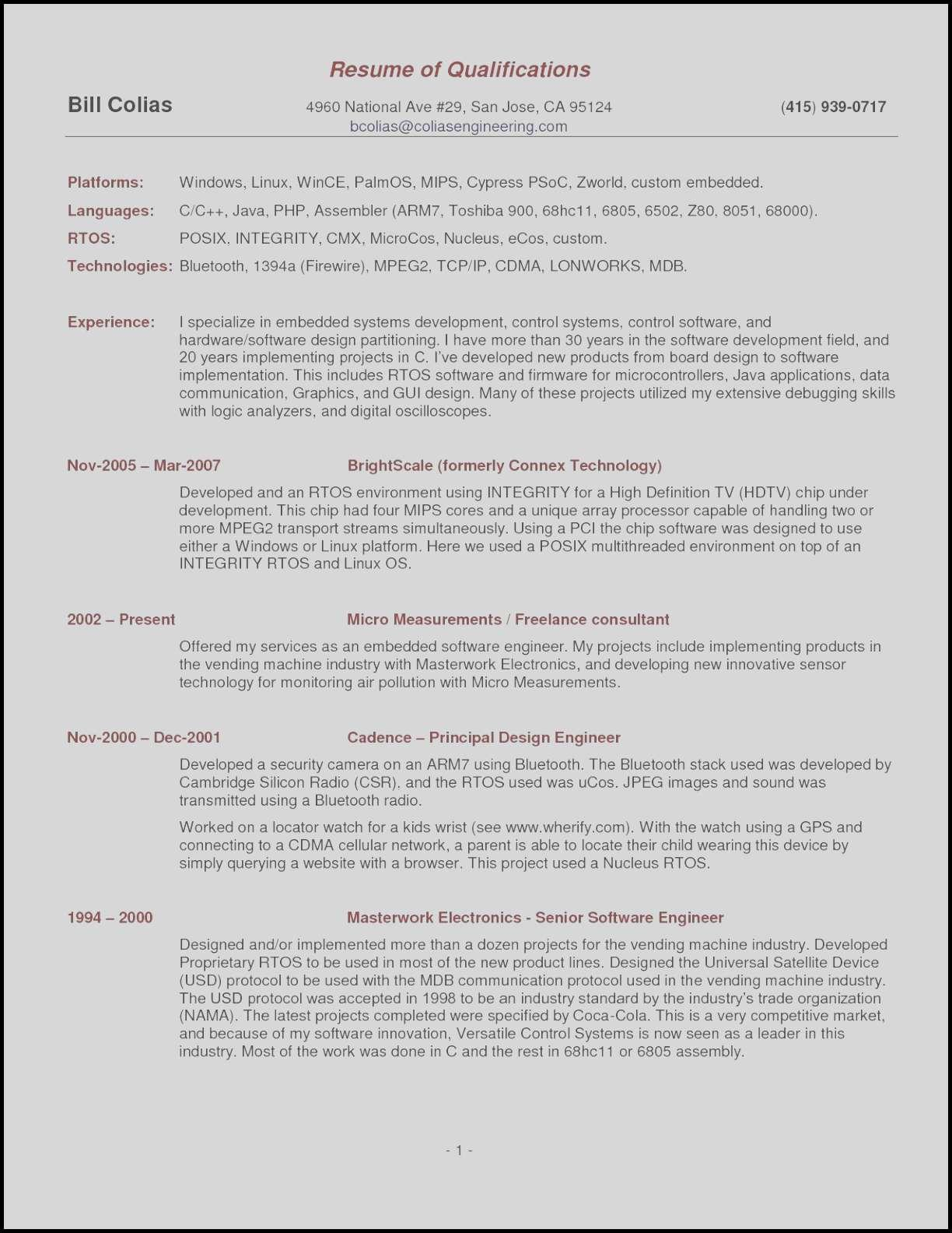 Audio Engineer Resume - sound Engineer Resume Sample Unique It Resume Samples Elegant Pr