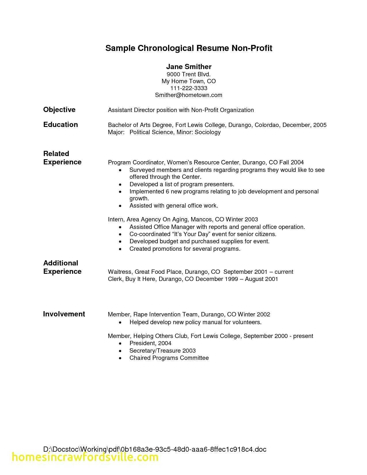Babysitter Resume Description - Babysitter Resume Skills New Beautiful Nanny Duties Resume Fresh