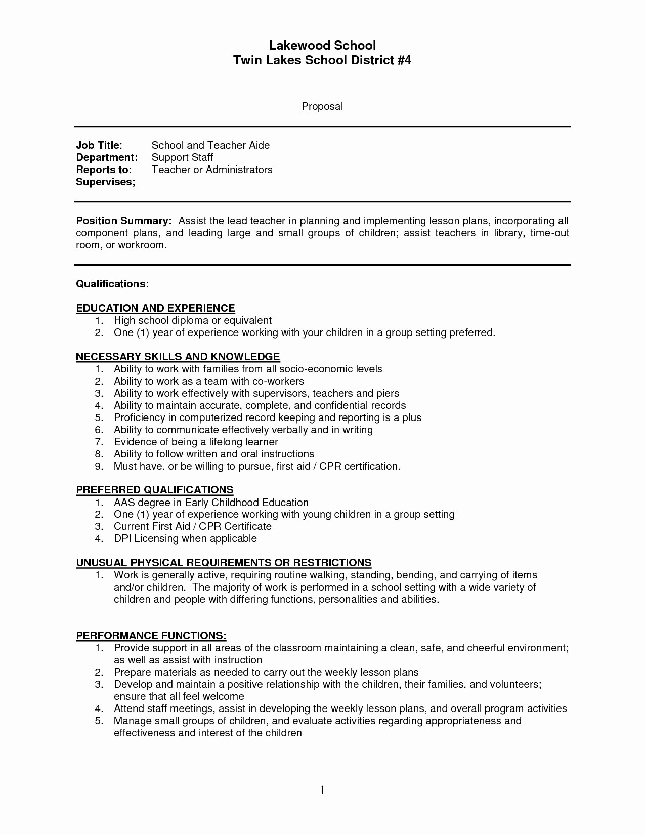 Babysitter Resume Description - Babysitter Resume Description Fresh Resume for Babysitter Fresh