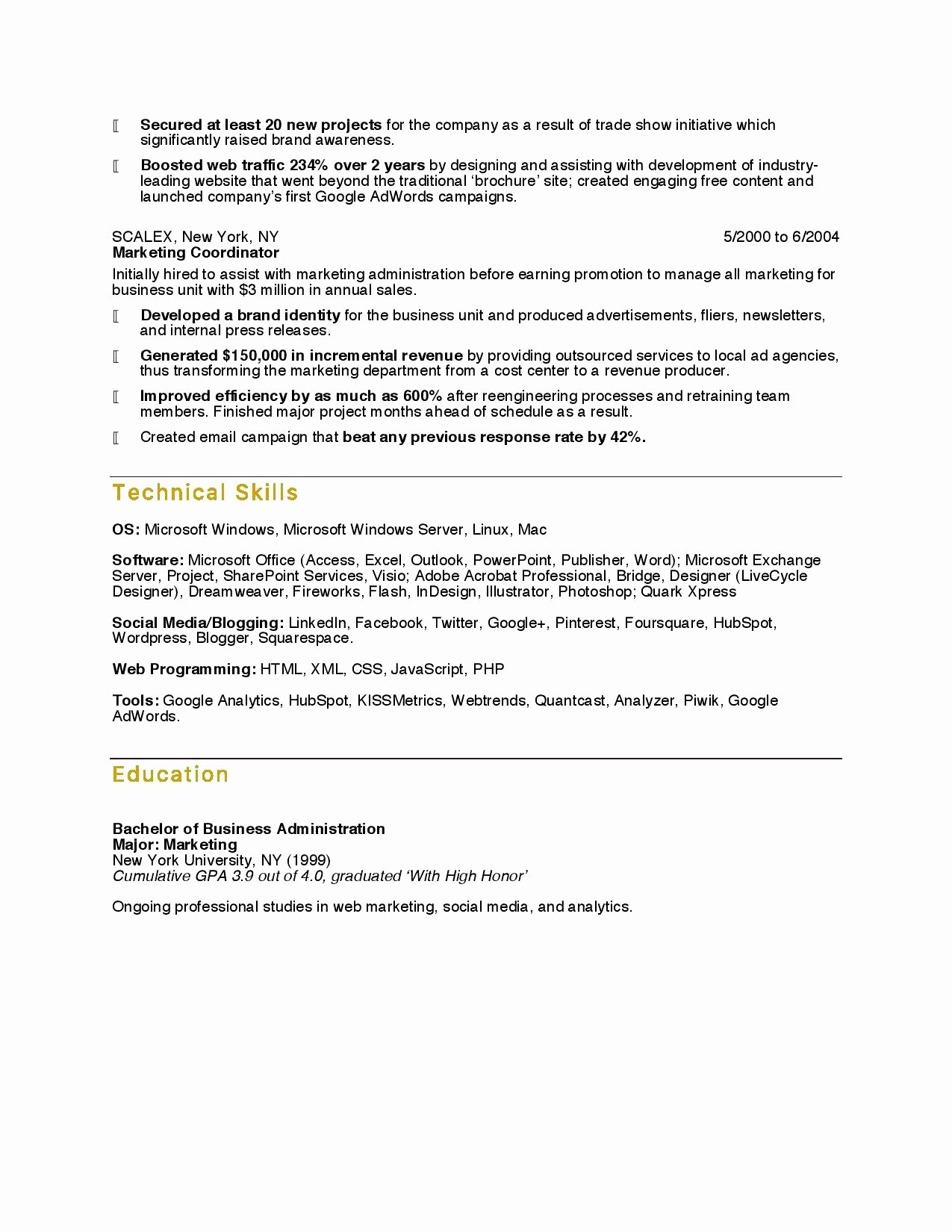 Babysitting Resume Examples - social Media Proposal Example Inspirational Babysitter Resume Sample