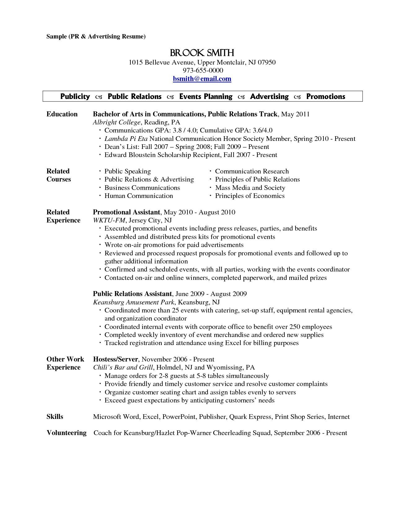 Banquet Server Resume Description - Fine Dining Server Resume Unique Restaurant Server Resume Sample