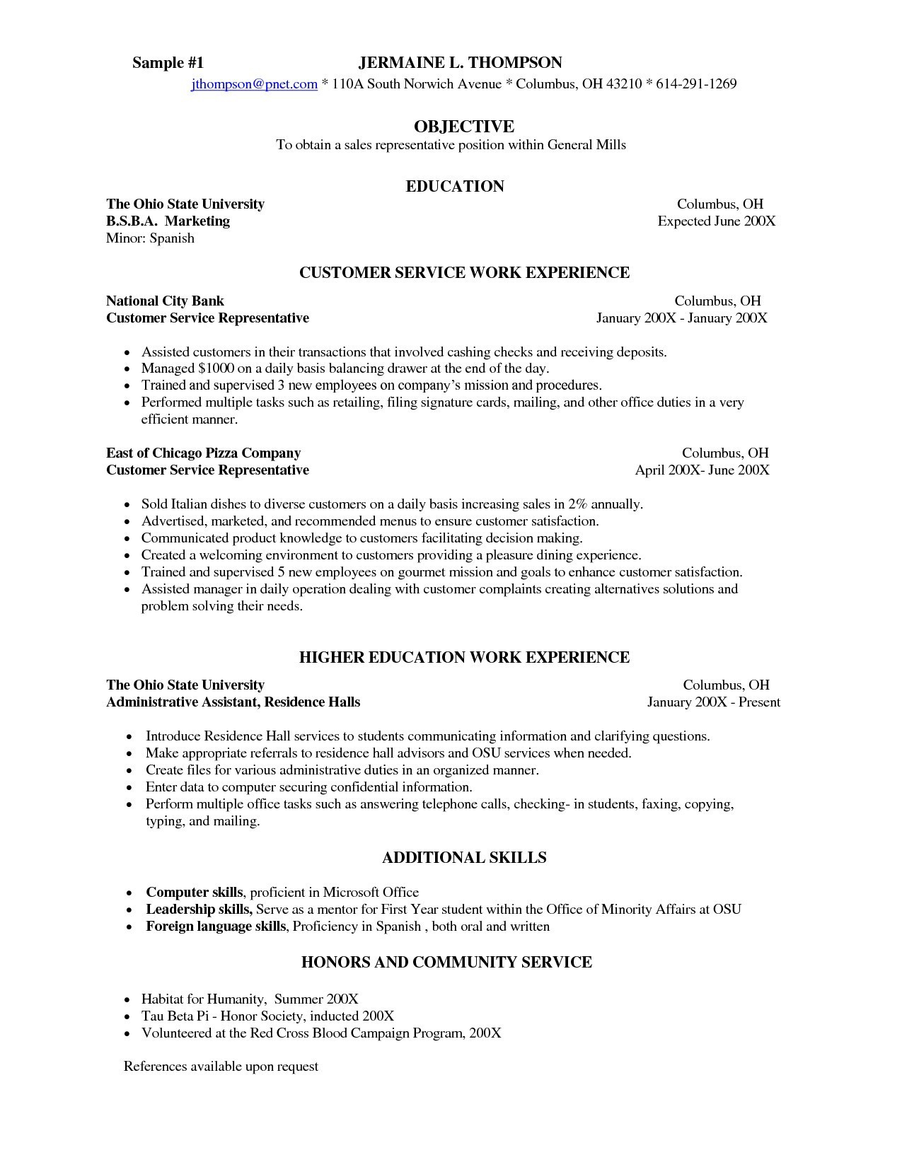 Banquet Server Resume Description - Banquet Server Resume Examples New Server Resume Template Unique