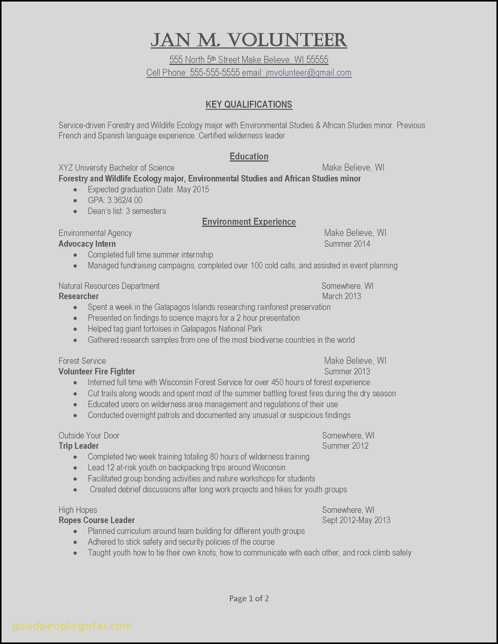 Bartending Duties On Resume - 47 Fresh 2 Page Resume Examples Resume Templates Ideas 2018