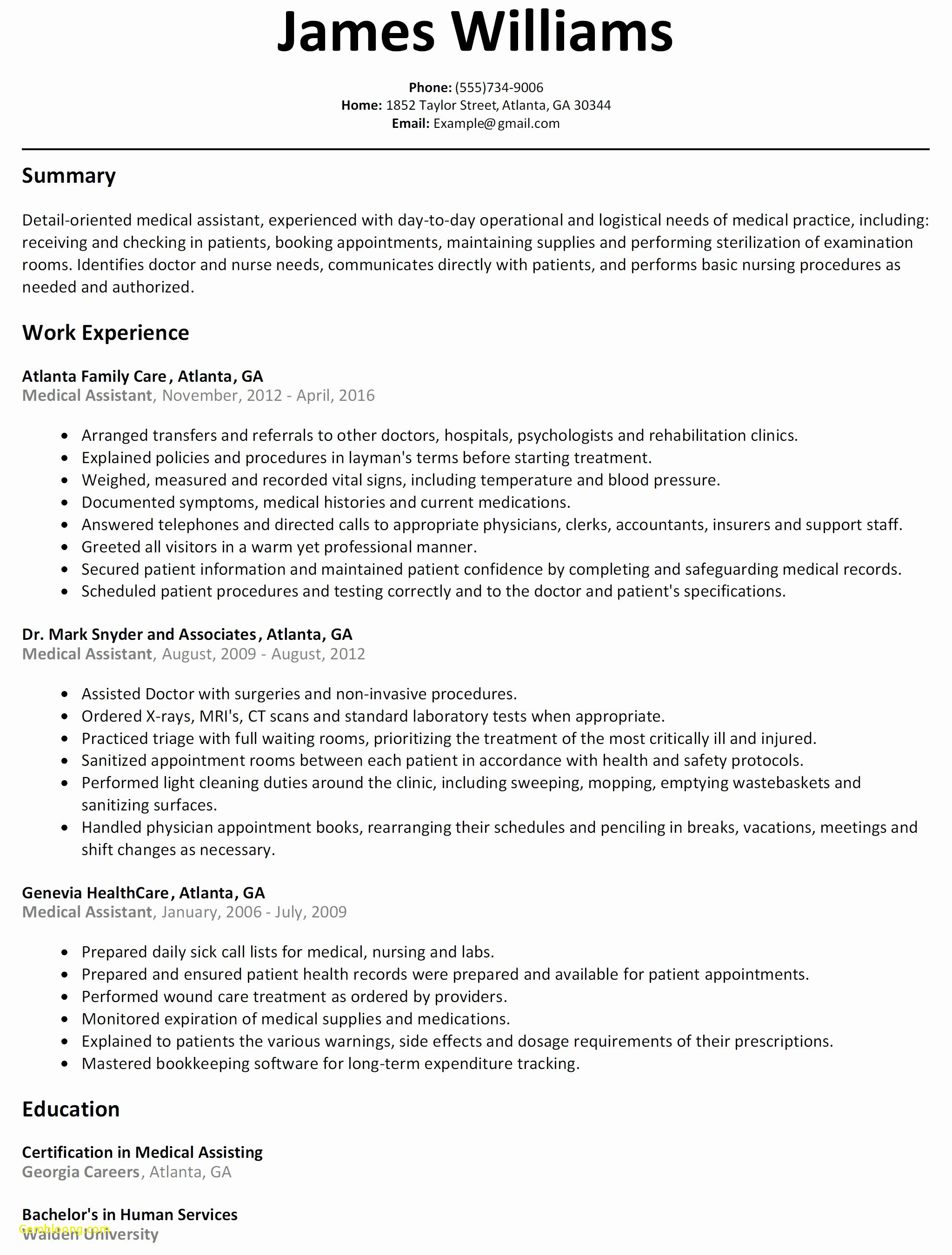 Bartending Responsibilities for A Resume - New Bartending Resume
