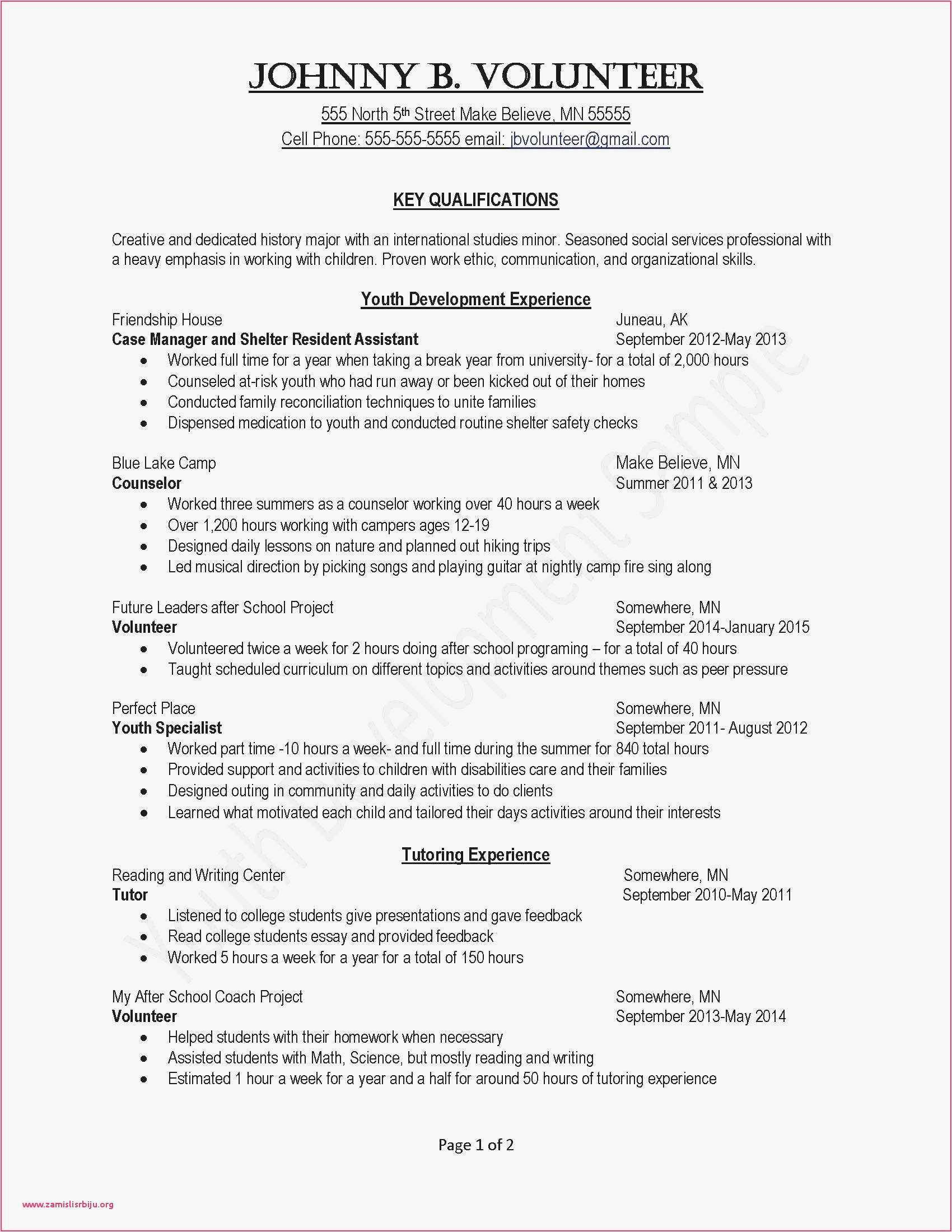 Bauer Resume Template - 21 Best Resume for Respiratory therapist Picture