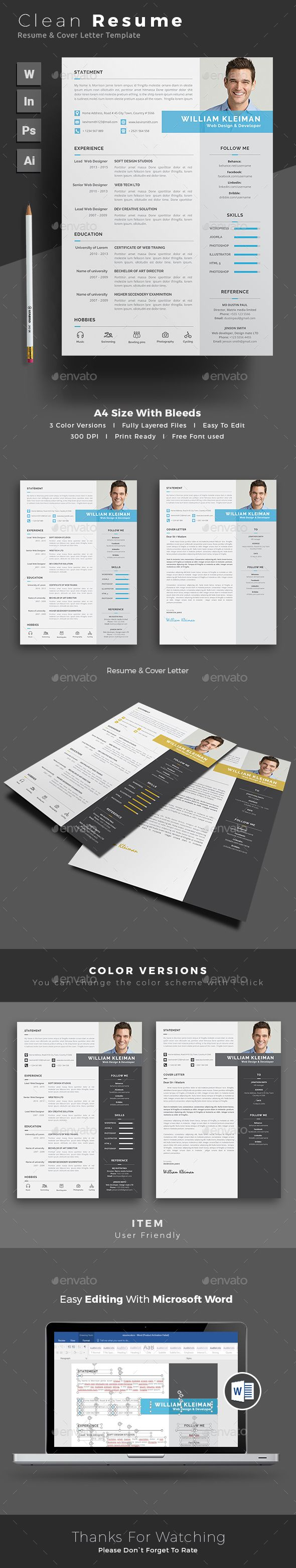 Behance Resume Template - 13 Best Creative Resumes Images On Pinterest