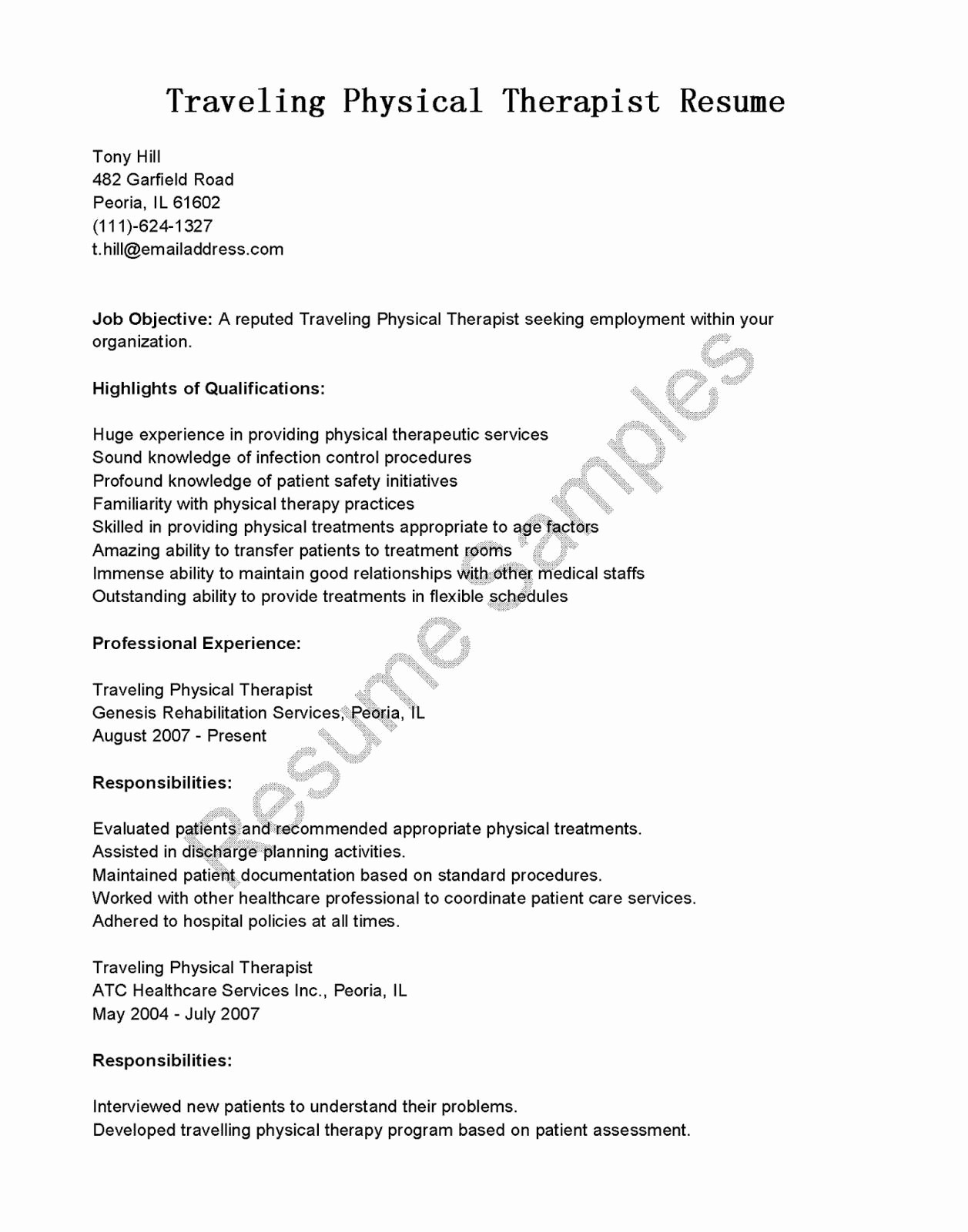 Behavior therapist Resume - Behavior therapist Resume Lovely Mental Health therapist Resume Best