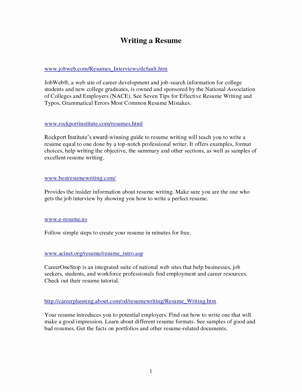 Best Place to Post Resume Online - 16 Resume Builder Free Download