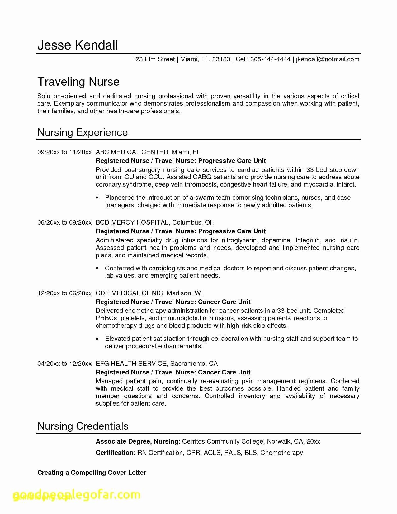 Best Professional Resume - 24 Model Professional Resume