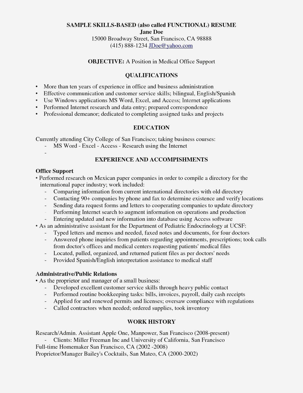 Bookkeeping Duties for Resume - 14 Typical Warehouse Duties Resume Sierra Image Cv Word original