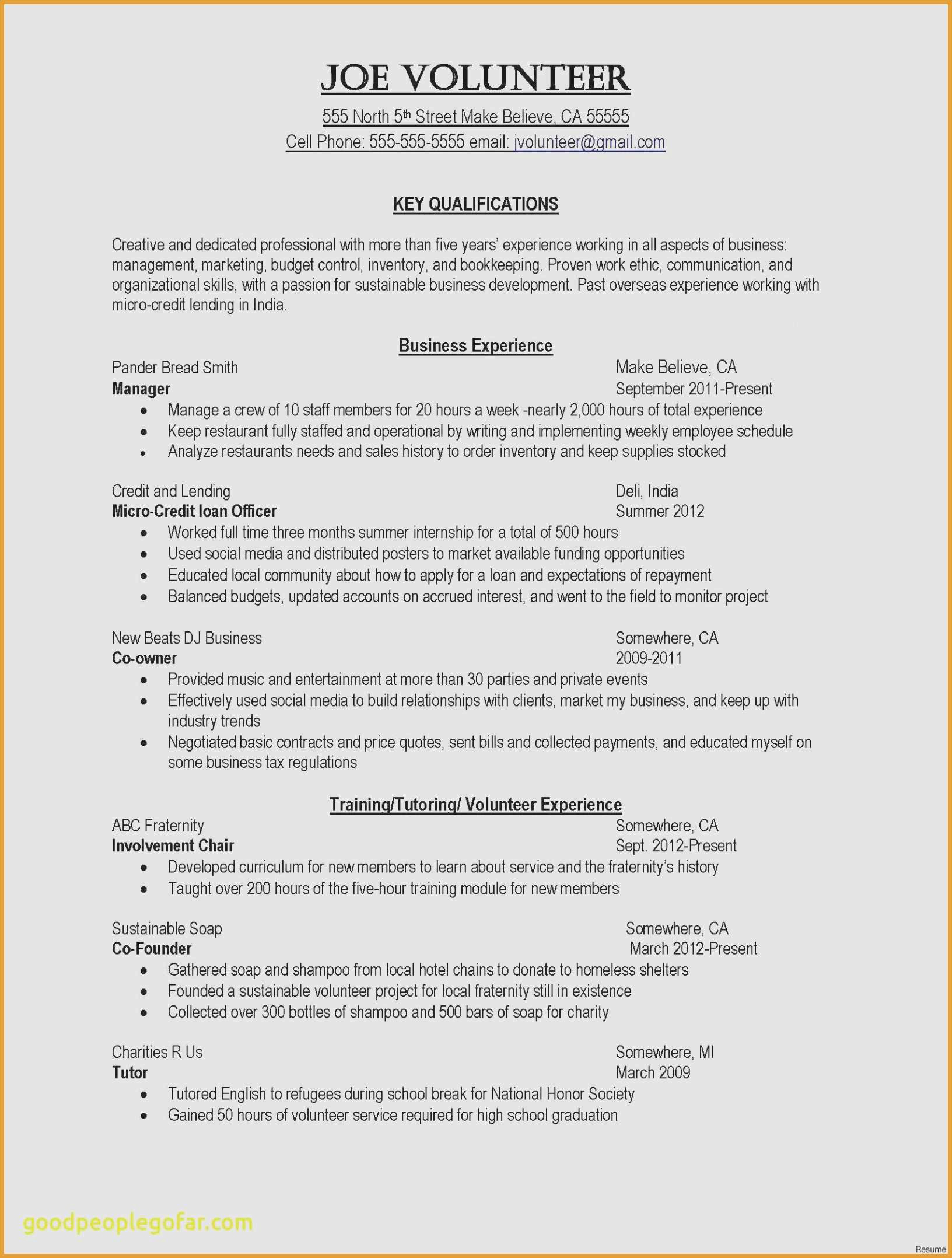 Bookkeeping Duties On Resume - 37 Fresh Examples Resumes for Jobs