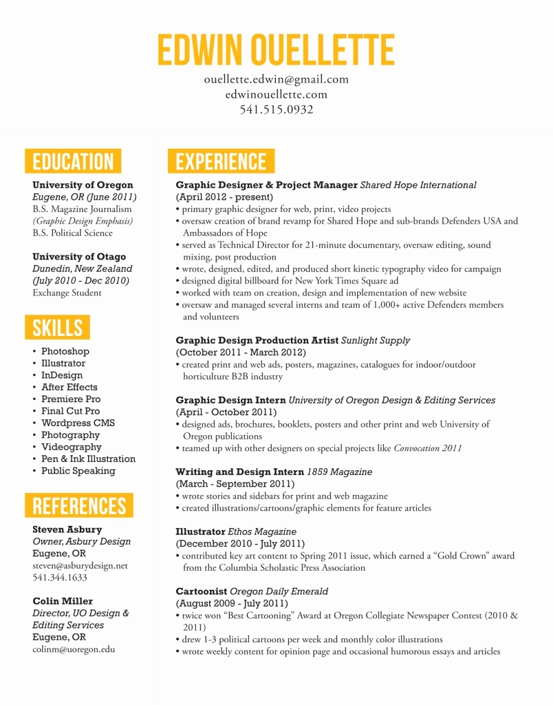 Brand Ambassador Resume Template - Graphy Resume Template Free Unique Free Indesign Resume Cv