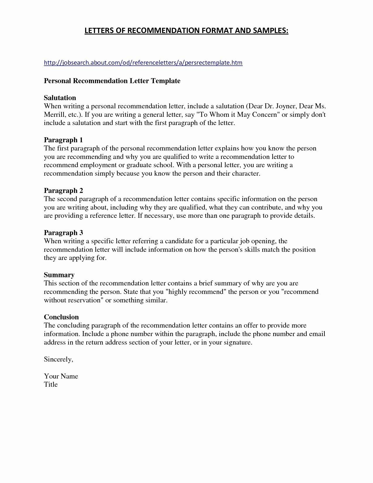 Brief Summary for Resume - 19 Brief Summary for Resume