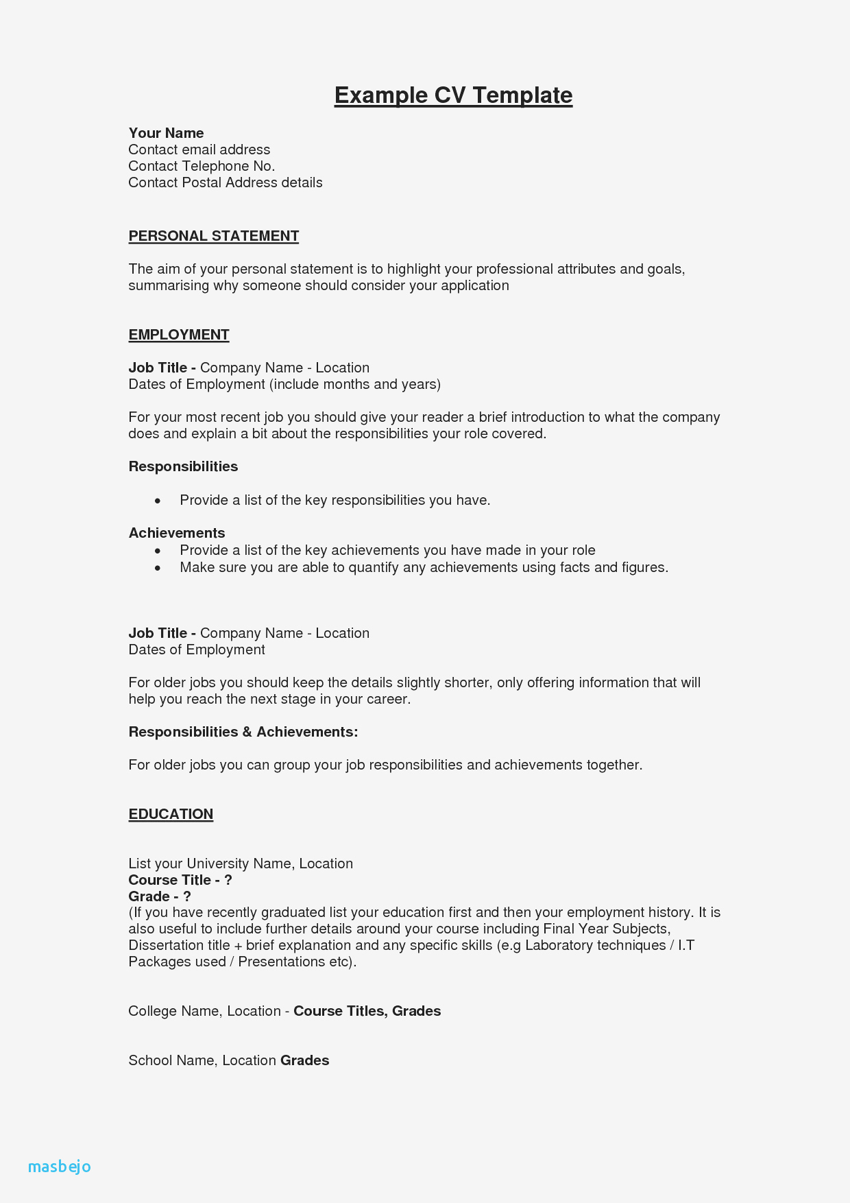Brief Summary for Resume - Sample Resume Summary Statements