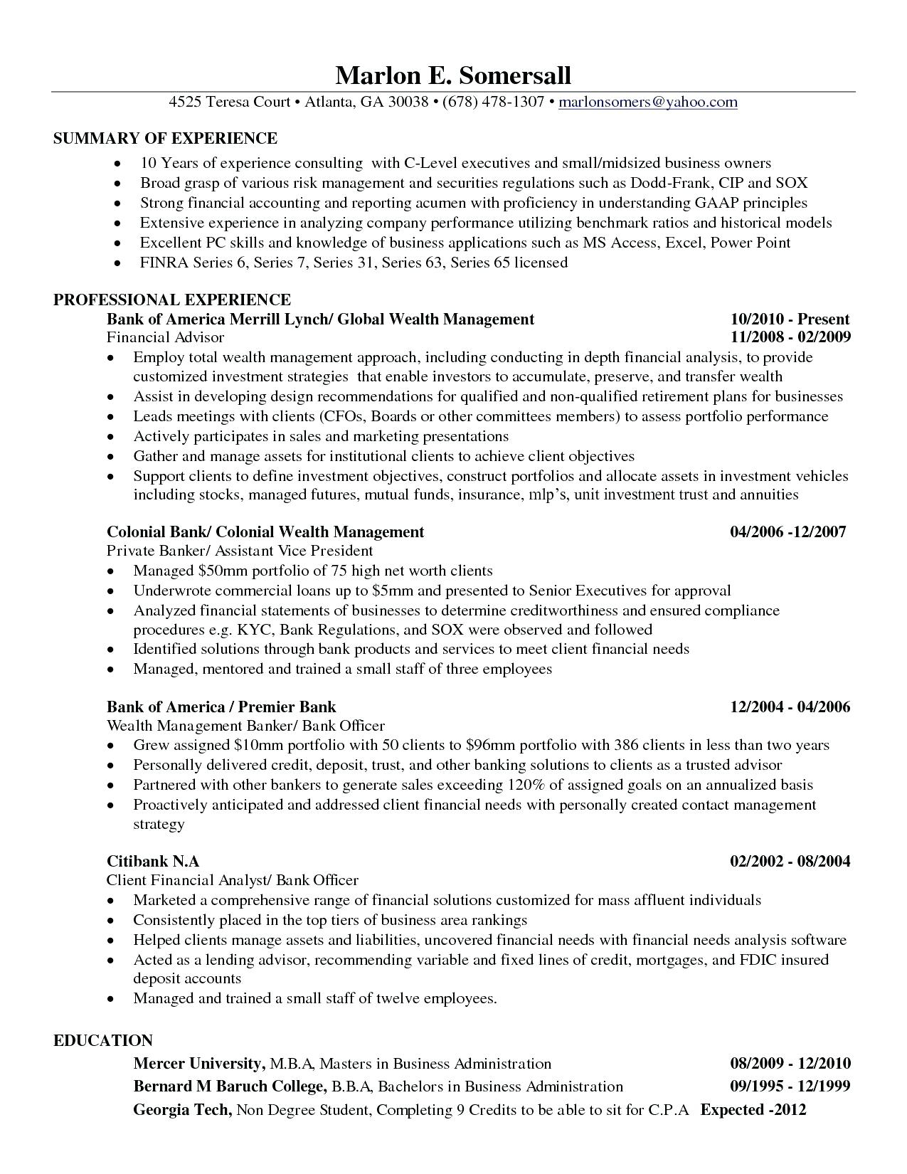 Business Analyst Resume Pdf - Part 4 Resume General Simple Creative