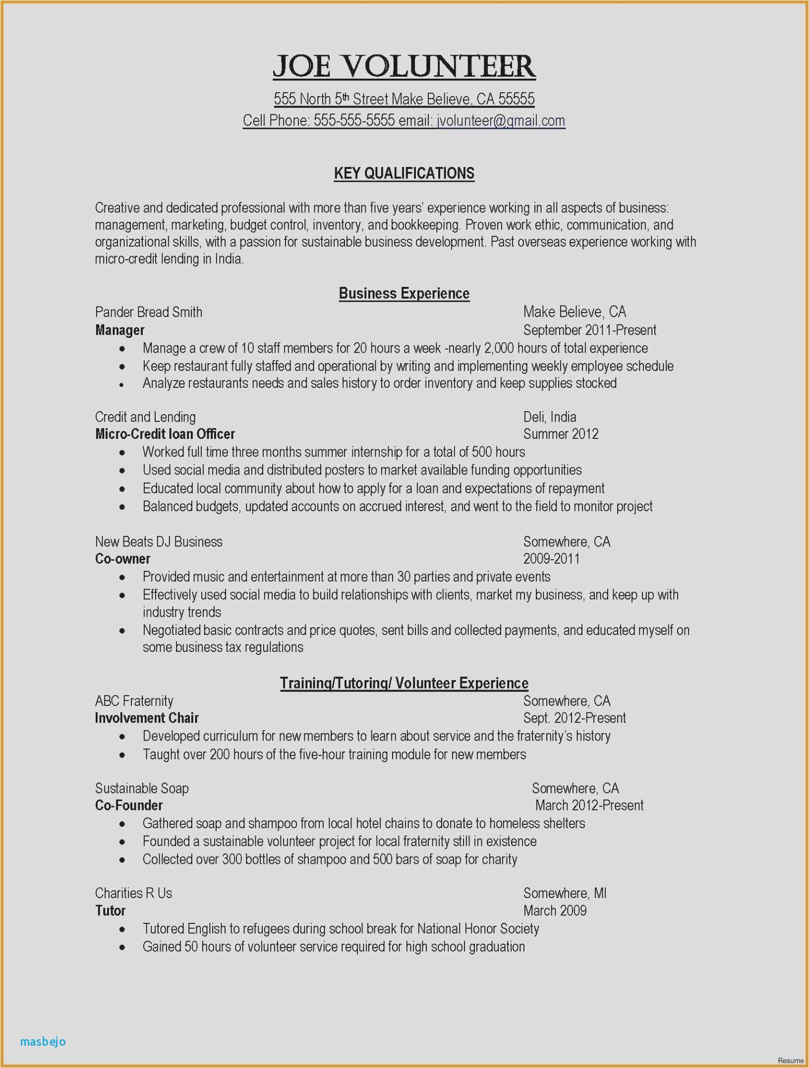 Business Development Resume Sample - 23 Best Federal Contracts for Small Business
