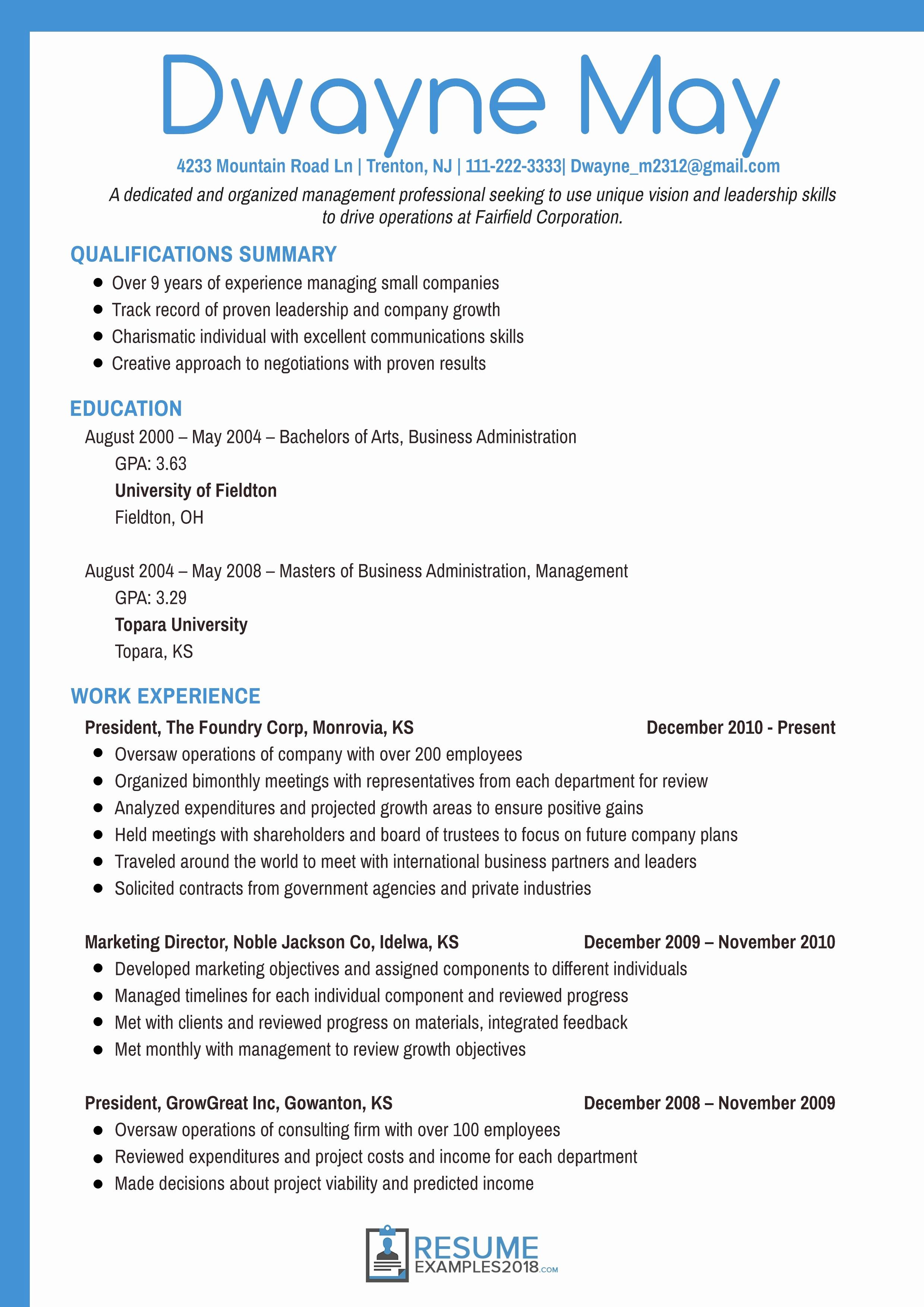 Business Manager Resume - 28 New Project Manager Resume Example Resume Templates Resume