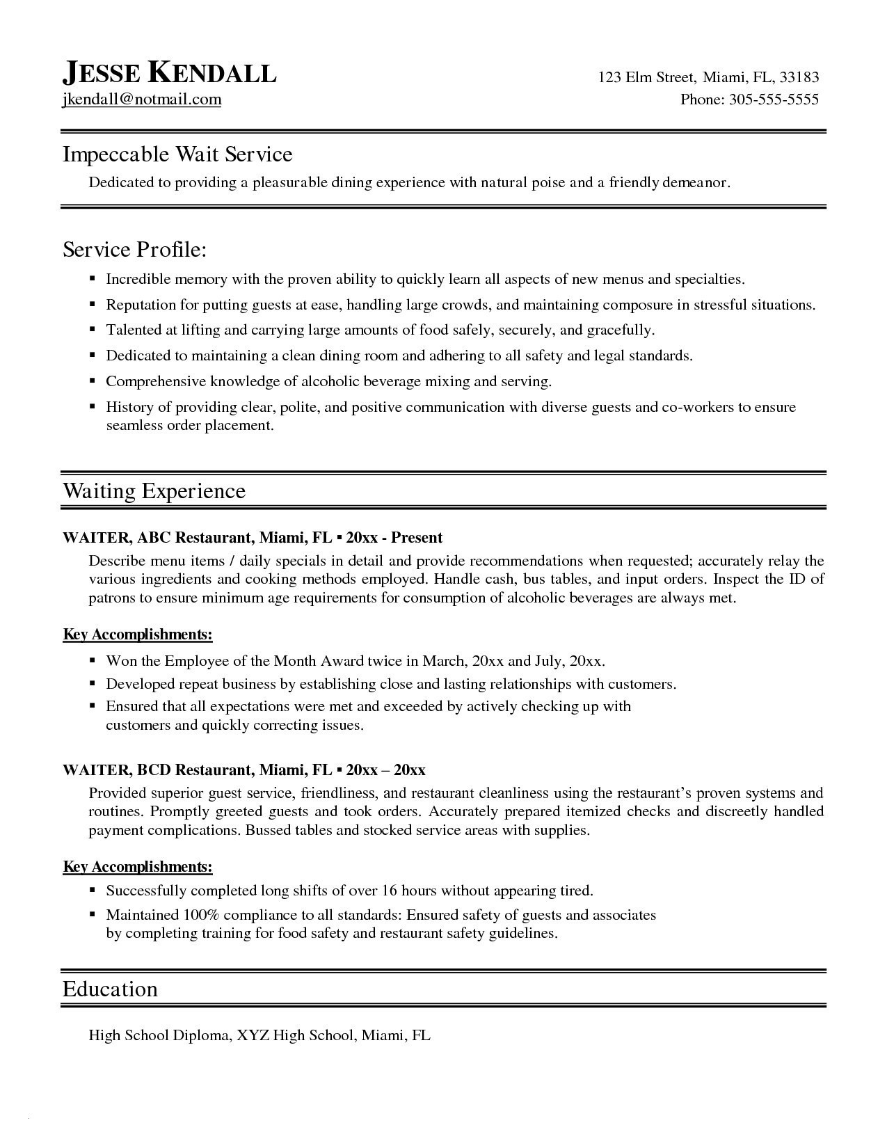Can Resumes Be Double Sided - Double Sided Resume