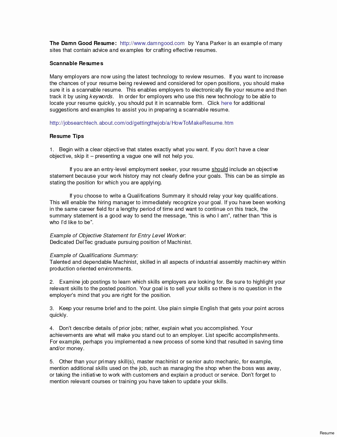 Career Change Objective Statement - 18 Awesome Career Change Resume