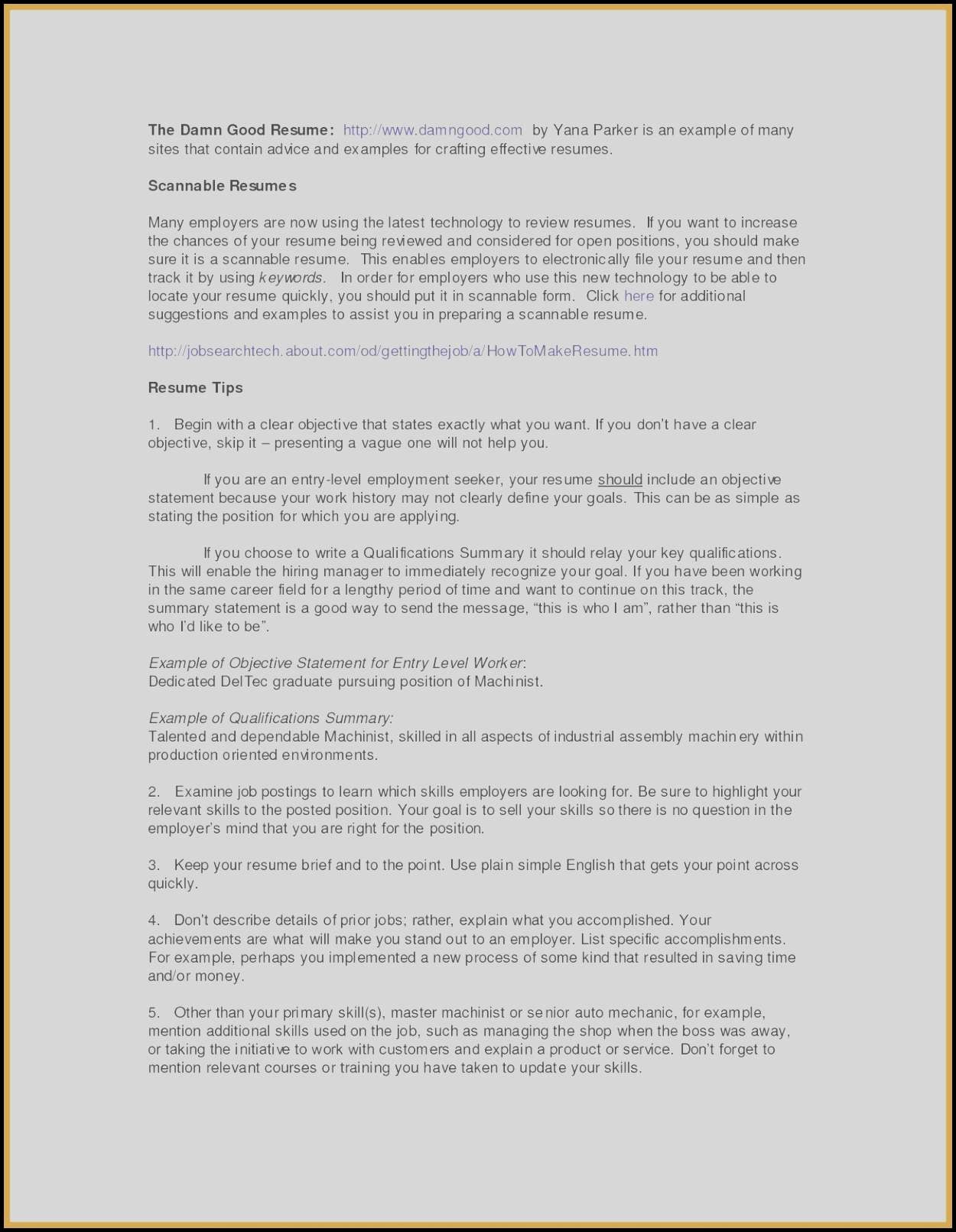 Career Change Objective Statements - Career Change Resume Samples