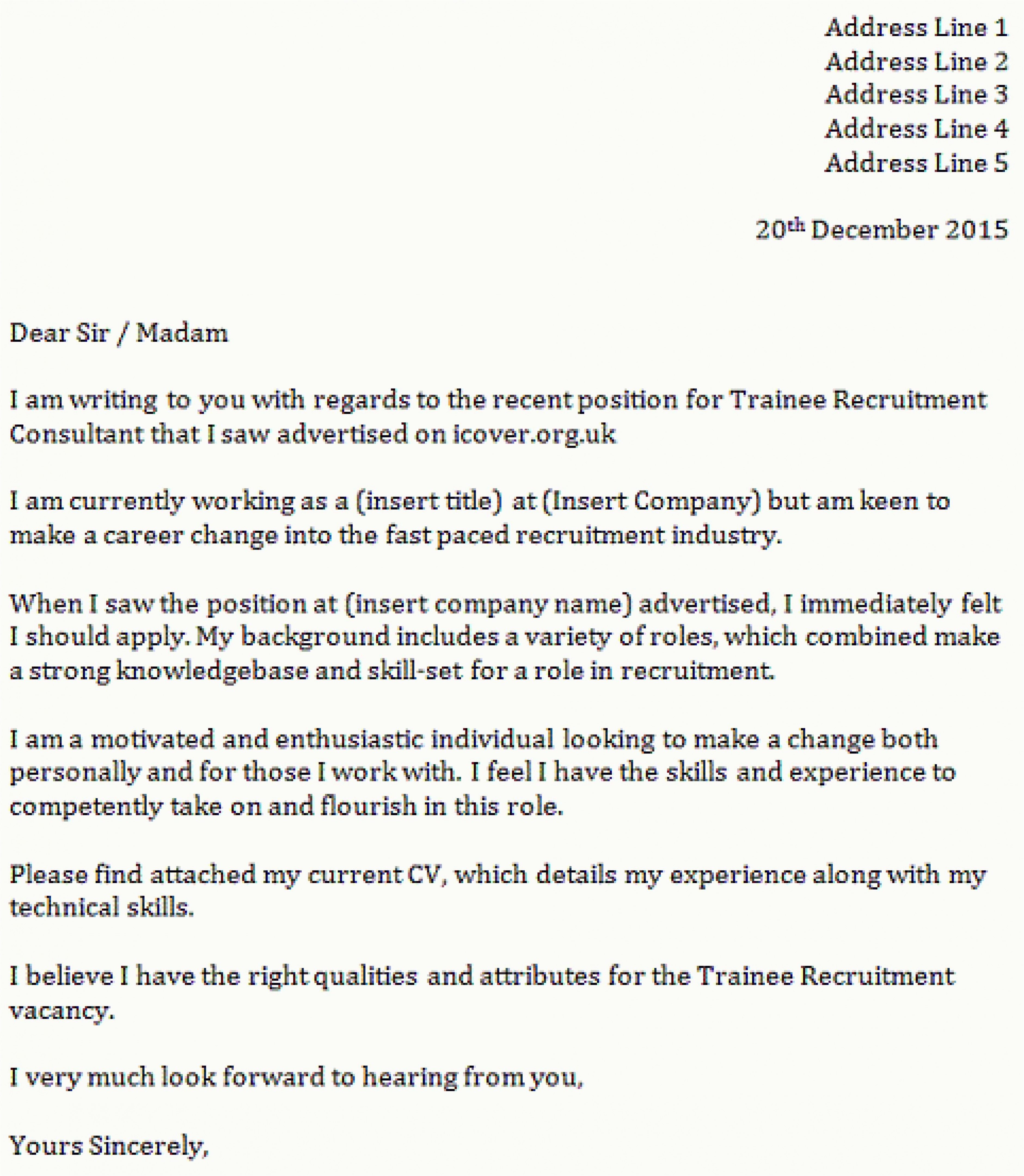 Career Change Resume Samples - Career Change Cover Letter Examples Valid who to Address Cover