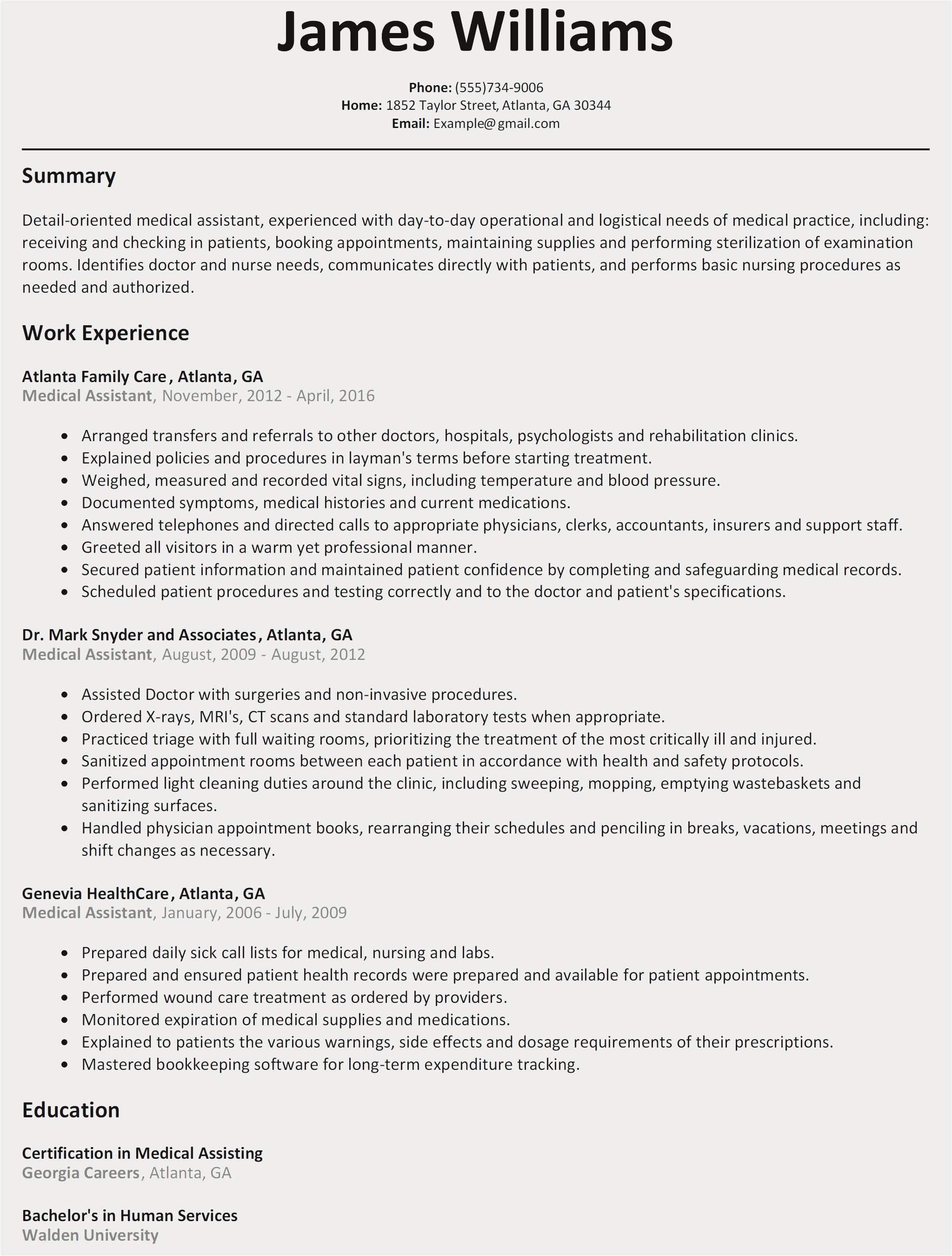 Career Fair Resume Template - Free Basic Resume Template Free Resume Template for Microsoft