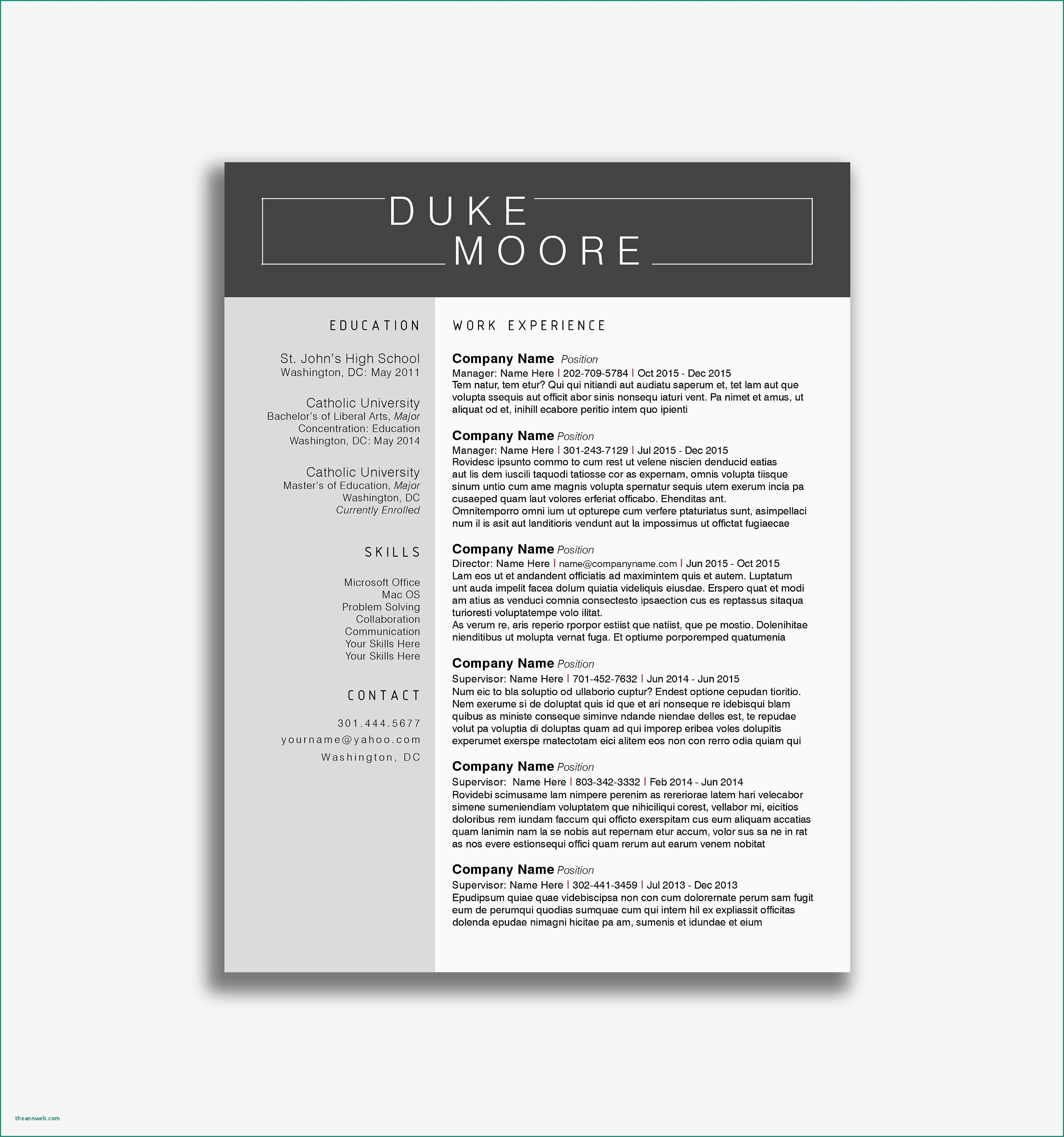 Careerbuilder Free Resume Template - Careerbuilder Resume Search Resume Builder Linkedin Unique Career